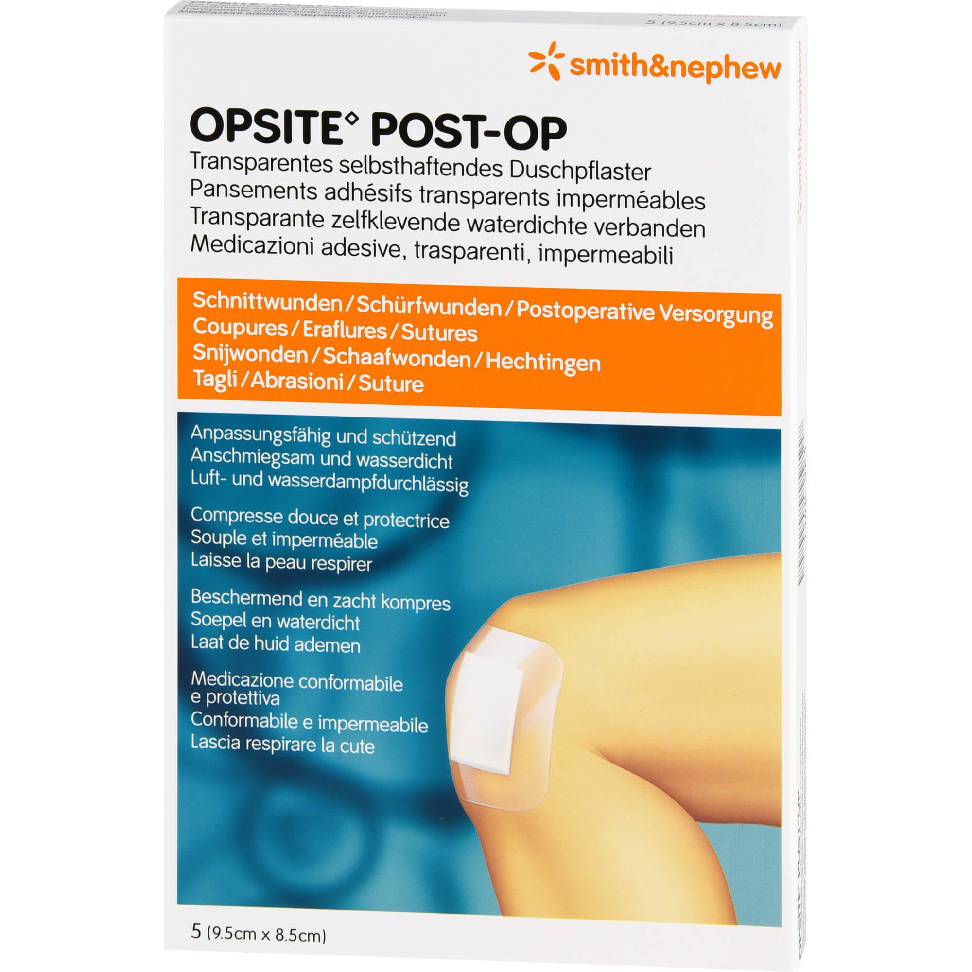 OPSITE Post-OP 8,5x9,5 cm Verband