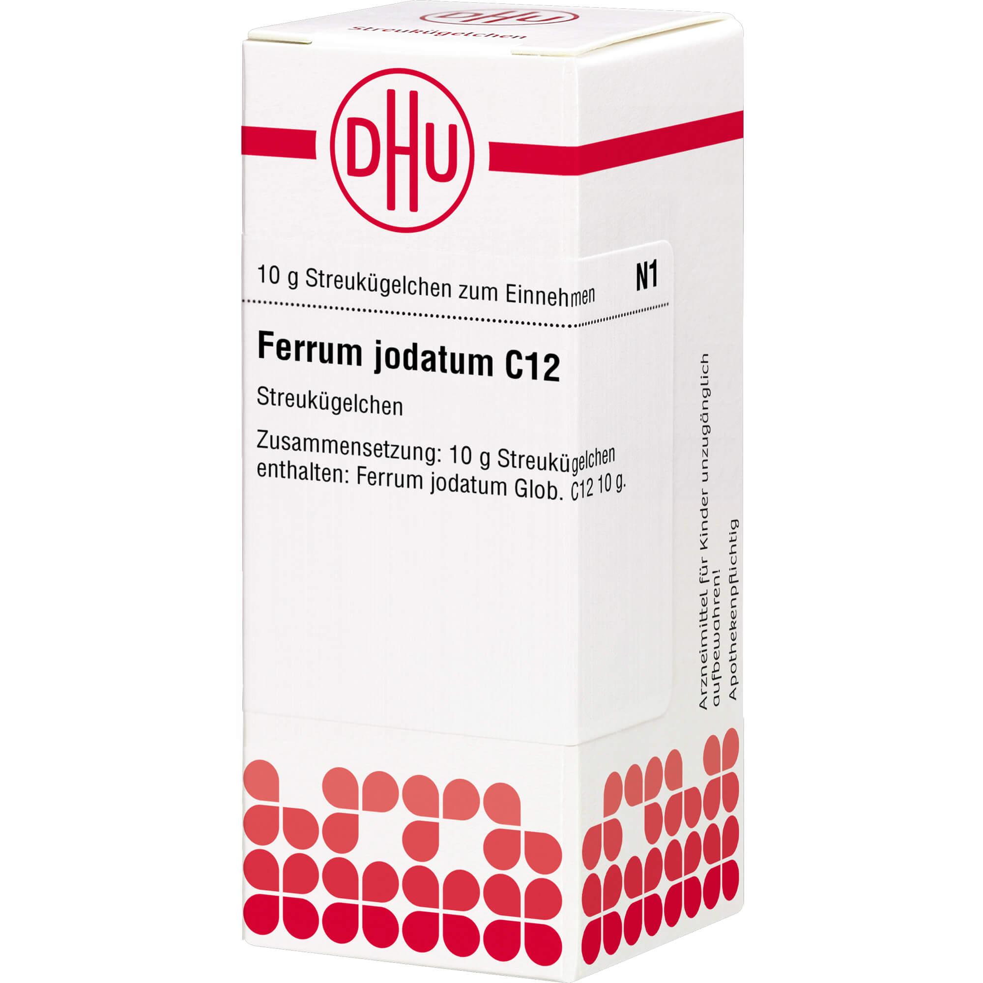 FERRUM JODATUM C 12 Globuli
