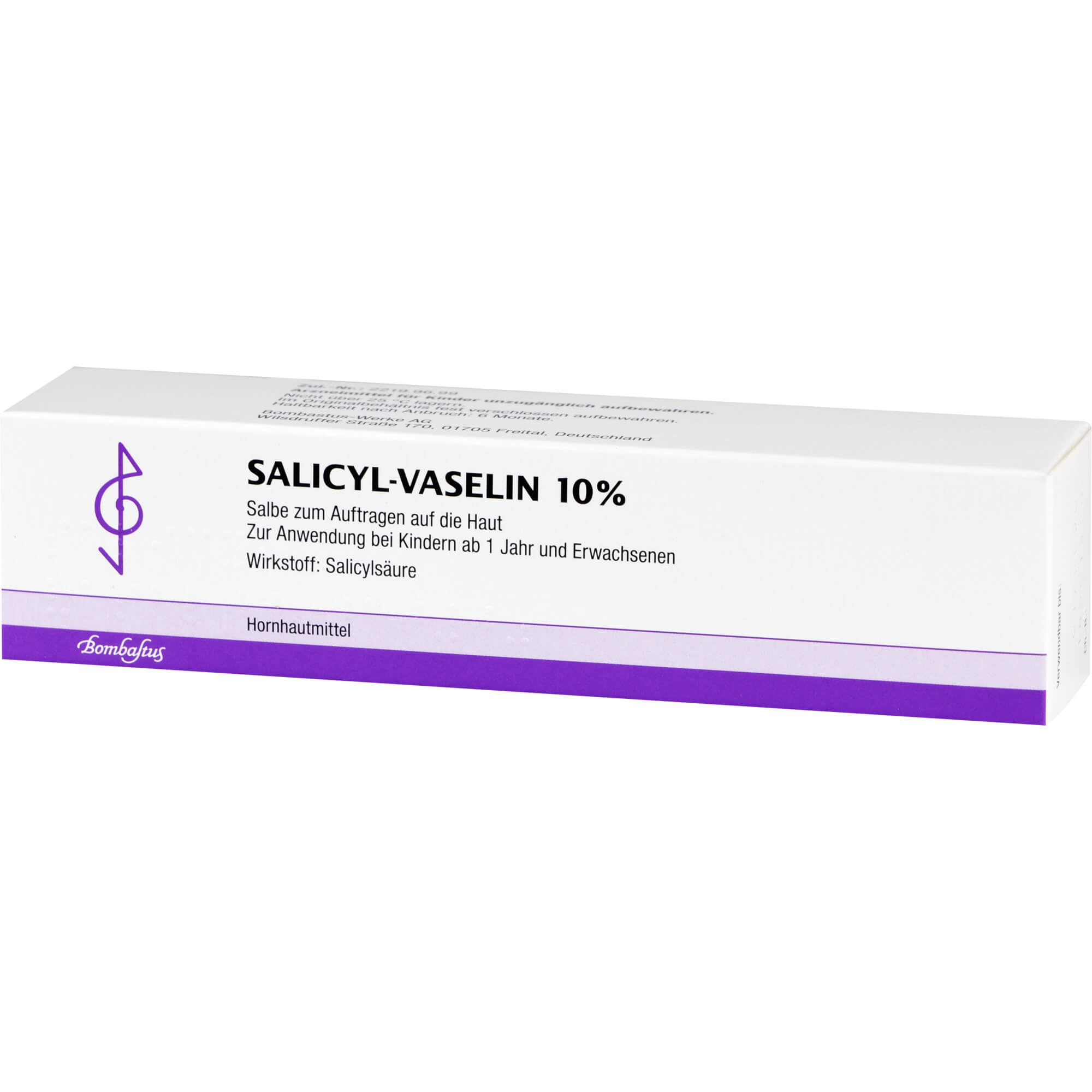 SALICYL VASELIN 10% Salbe