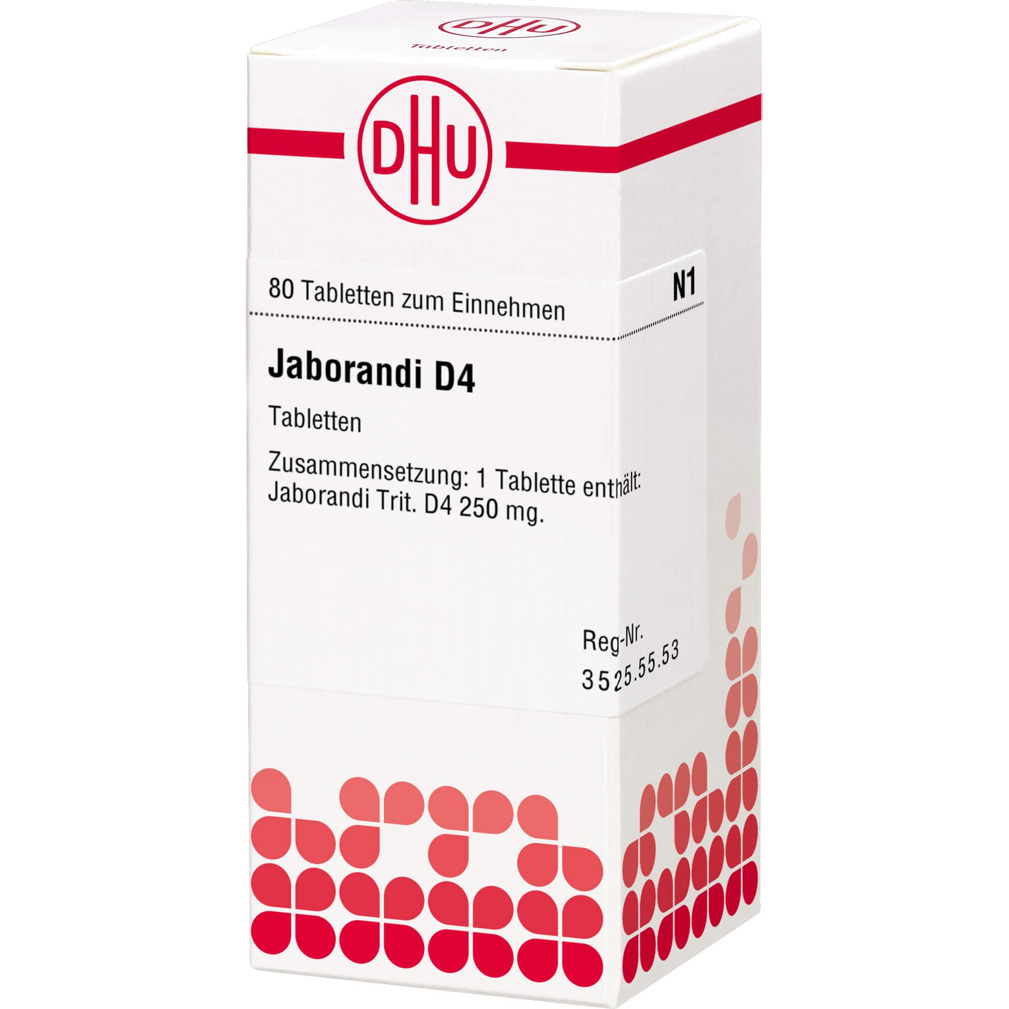 JABORANDI D 4 Tabletten