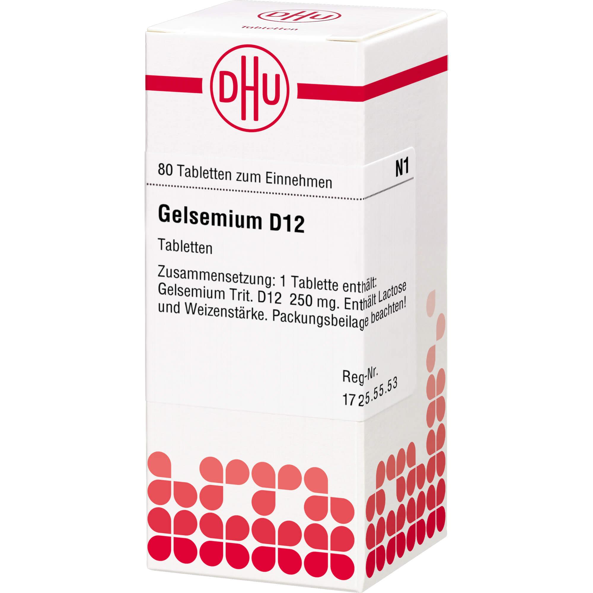 GELSEMIUM D 12 Tabletten