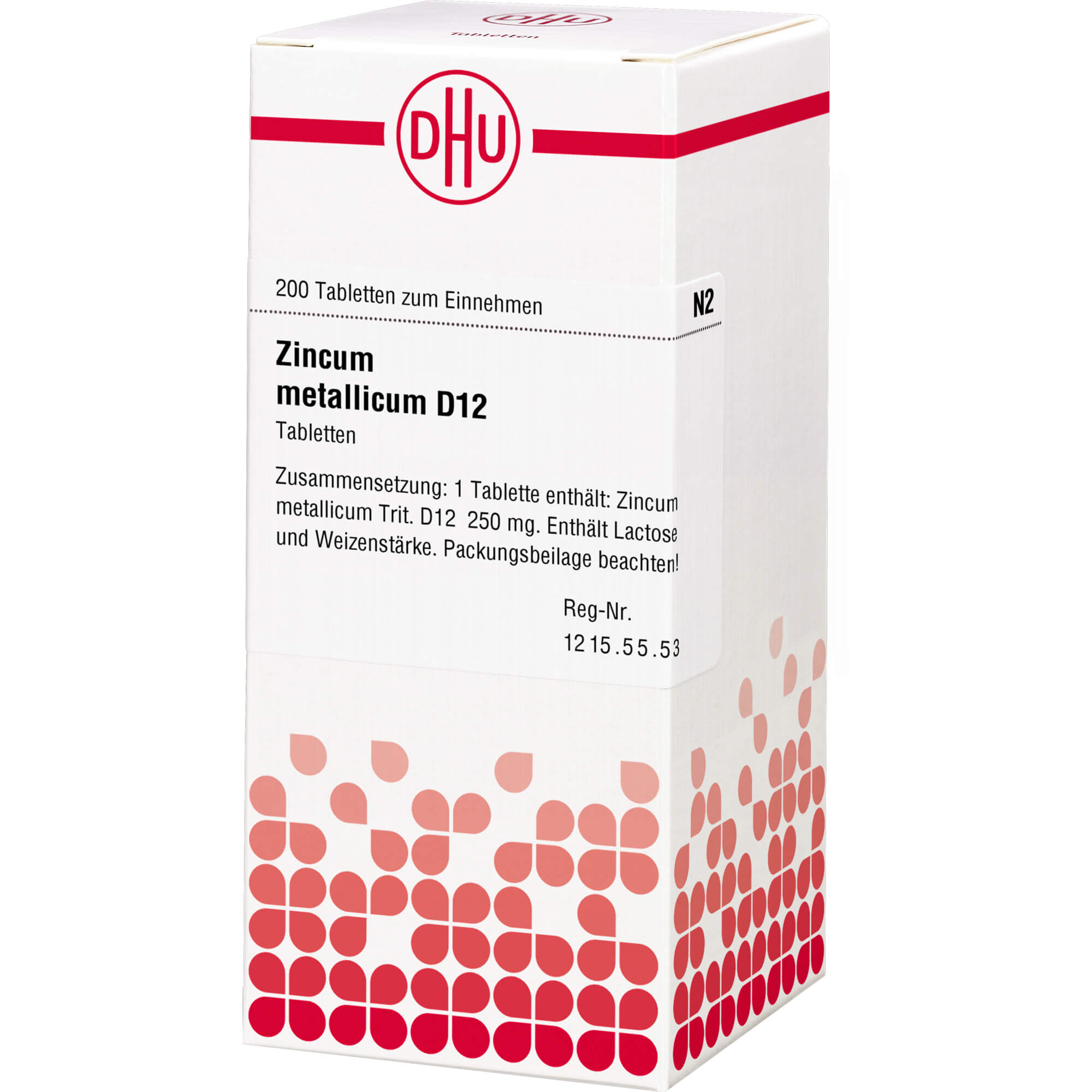 ZINCUM METALLICUM D 12 Tabletten