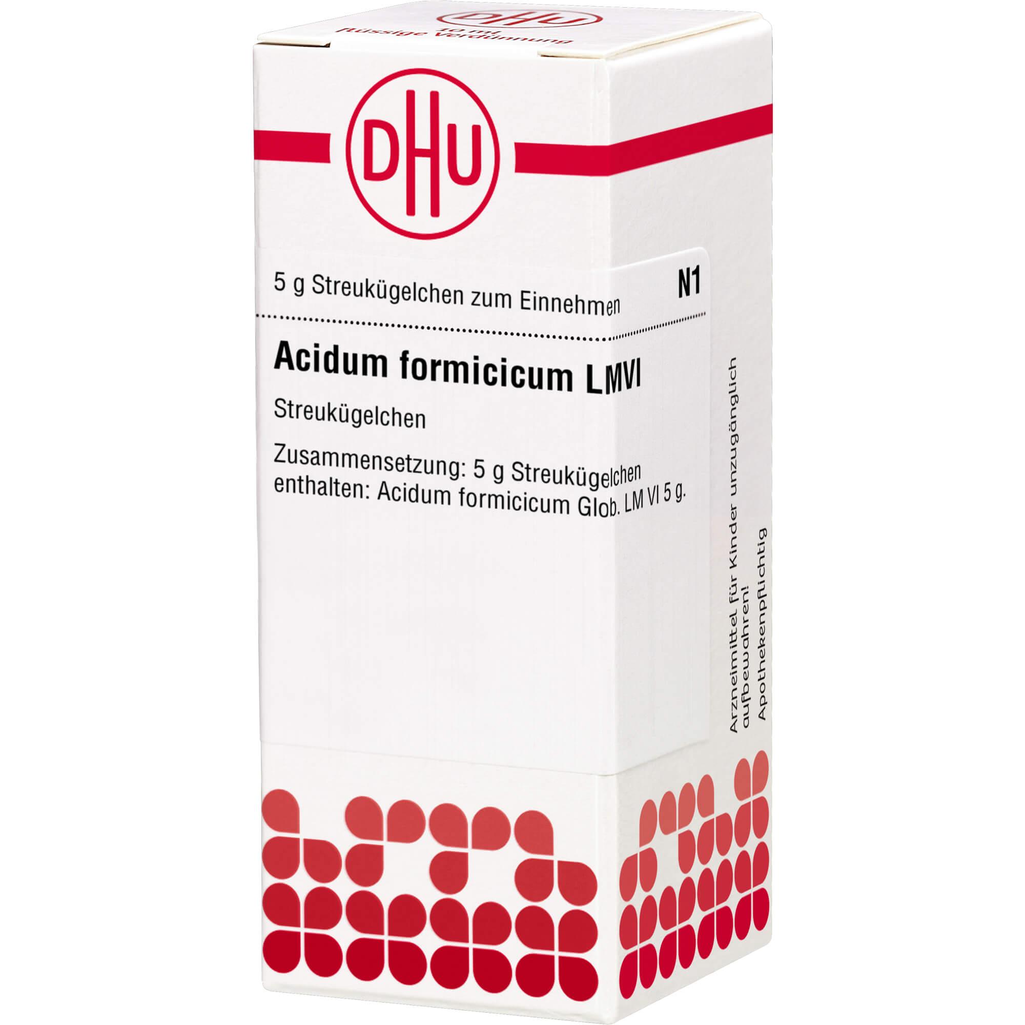LM ACIDUM formicicum VI Globuli