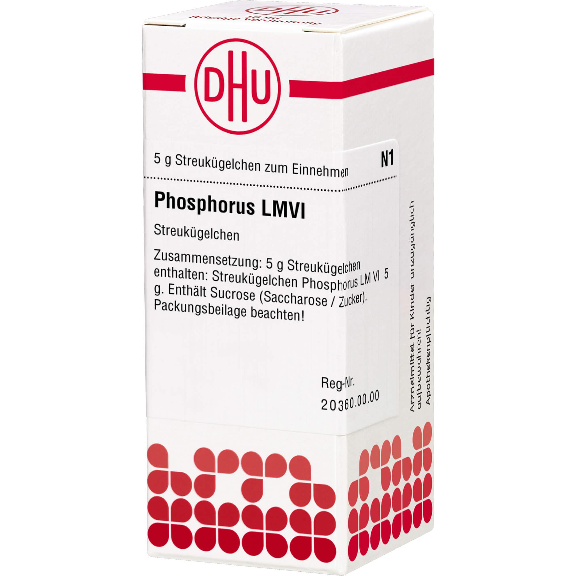 LM PHOSPHORUS VI Globuli