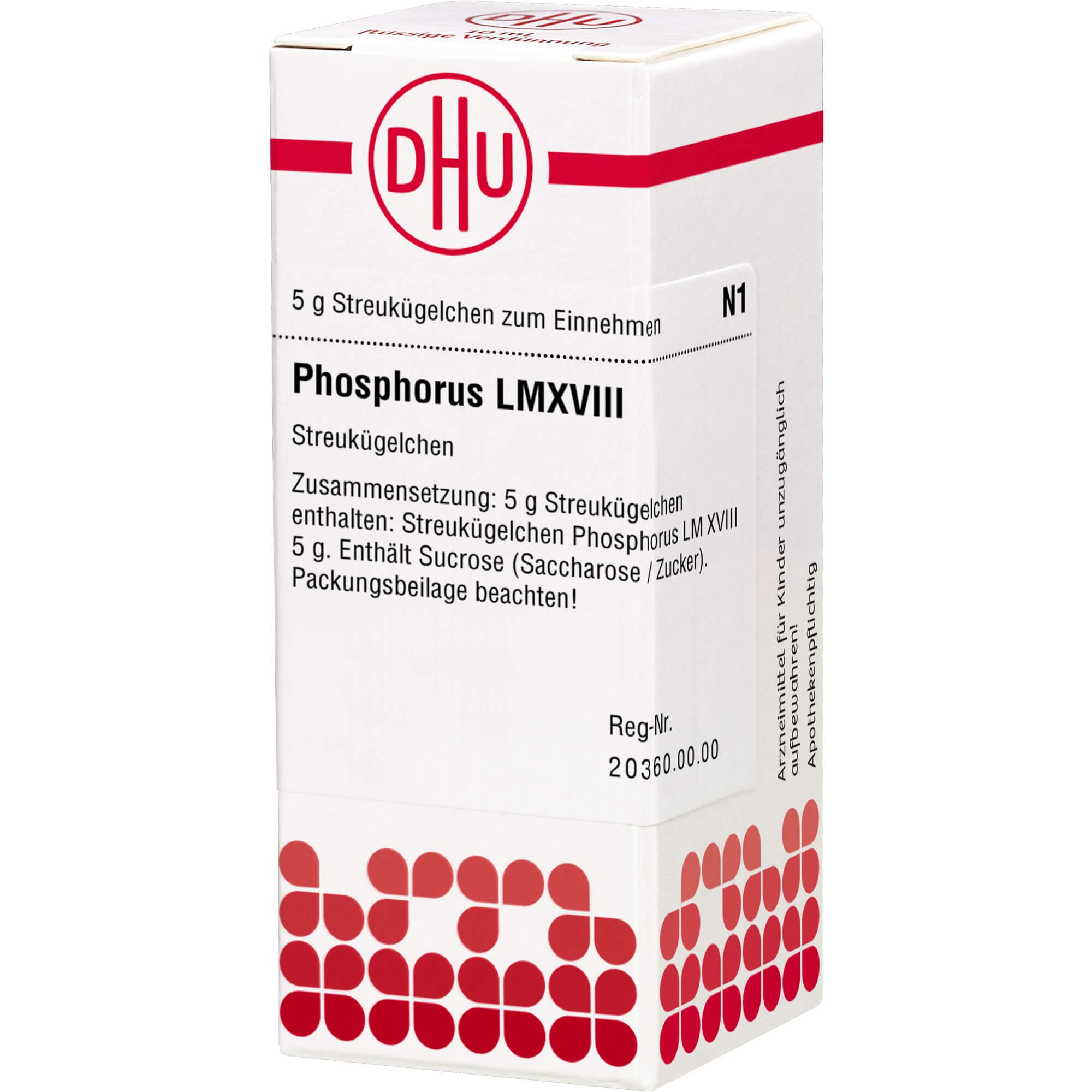 LM PHOSPHORUS XVIII Globuli