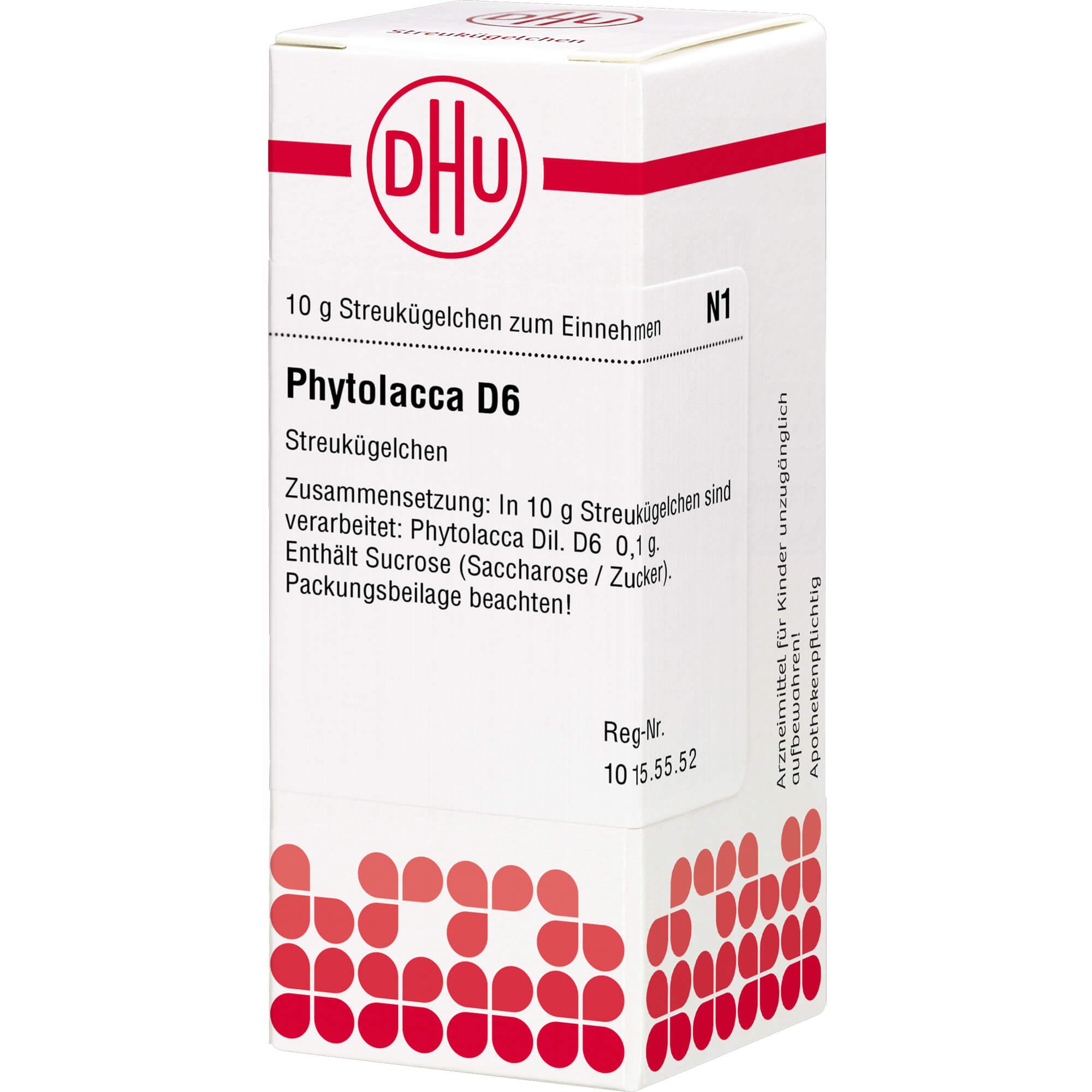 PHYTOLACCA D 6 Globuli