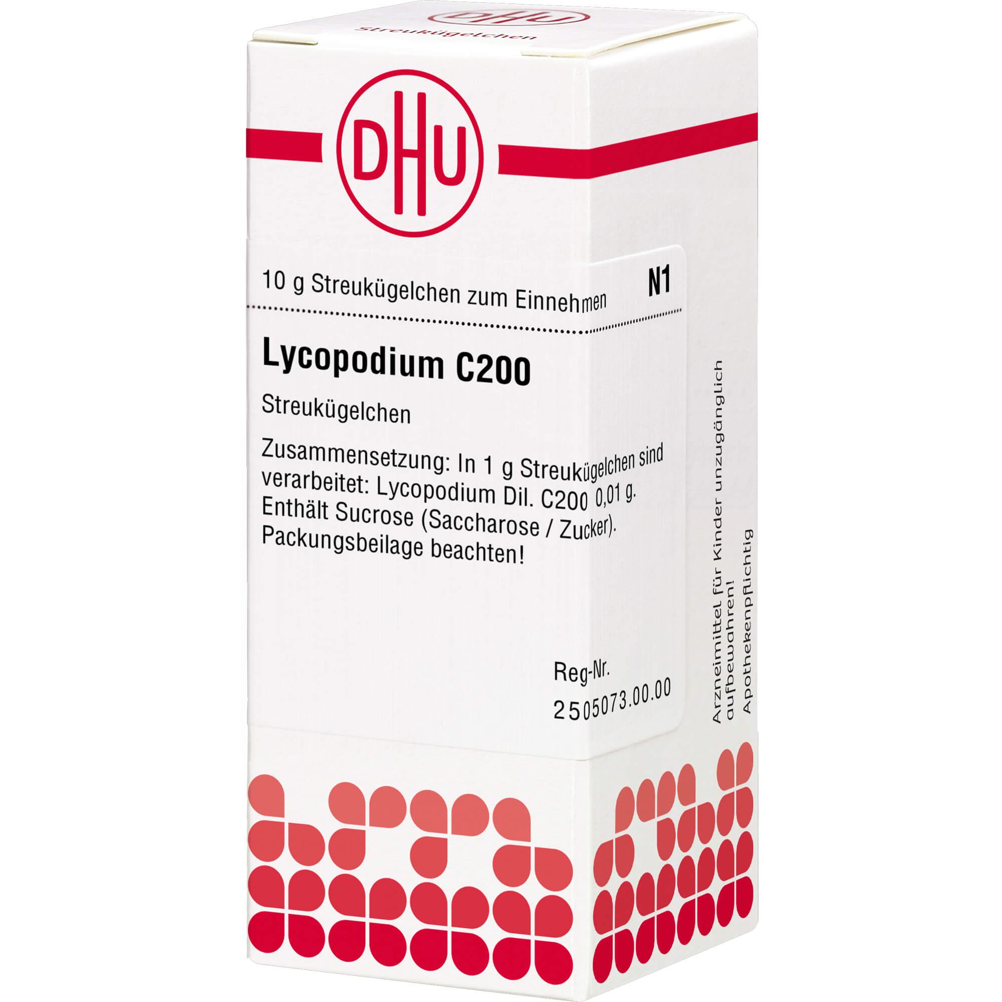LYCOPODIUM C 200 Globuli
