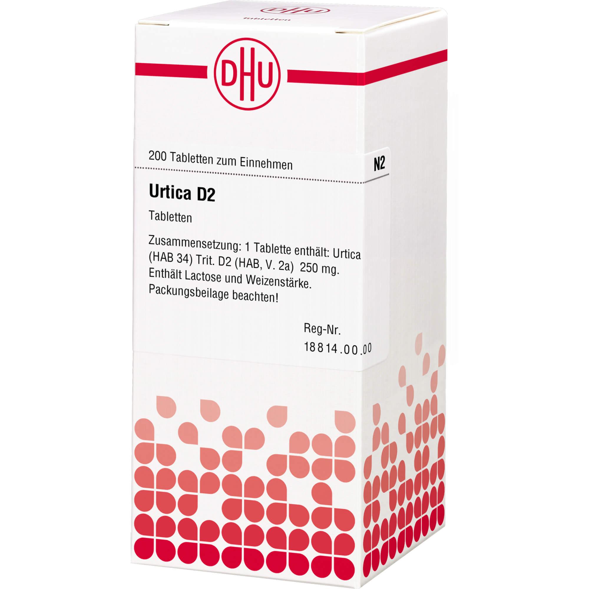 URTICA D 2 Tabletten