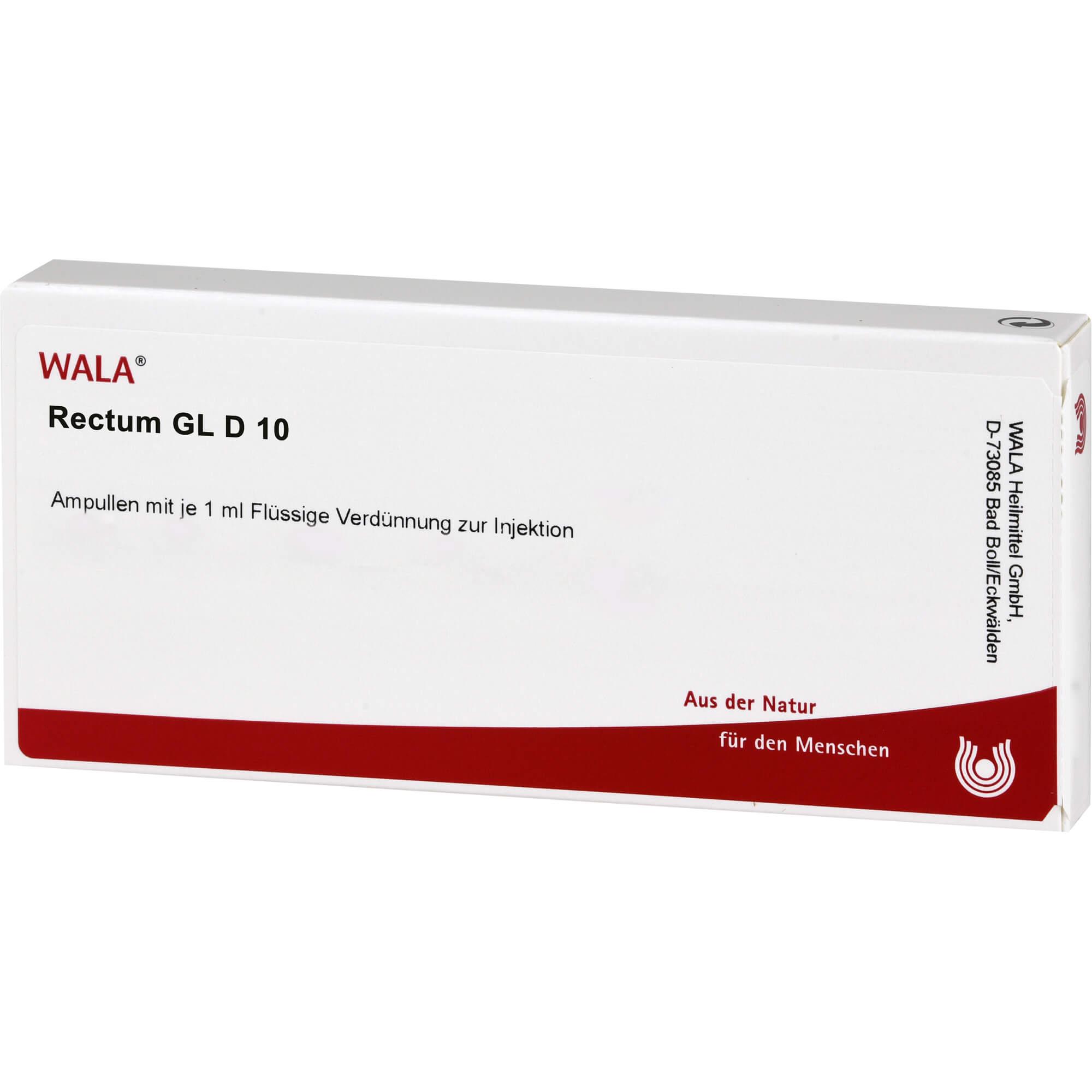 RECTUM GL D 10 Ampullen