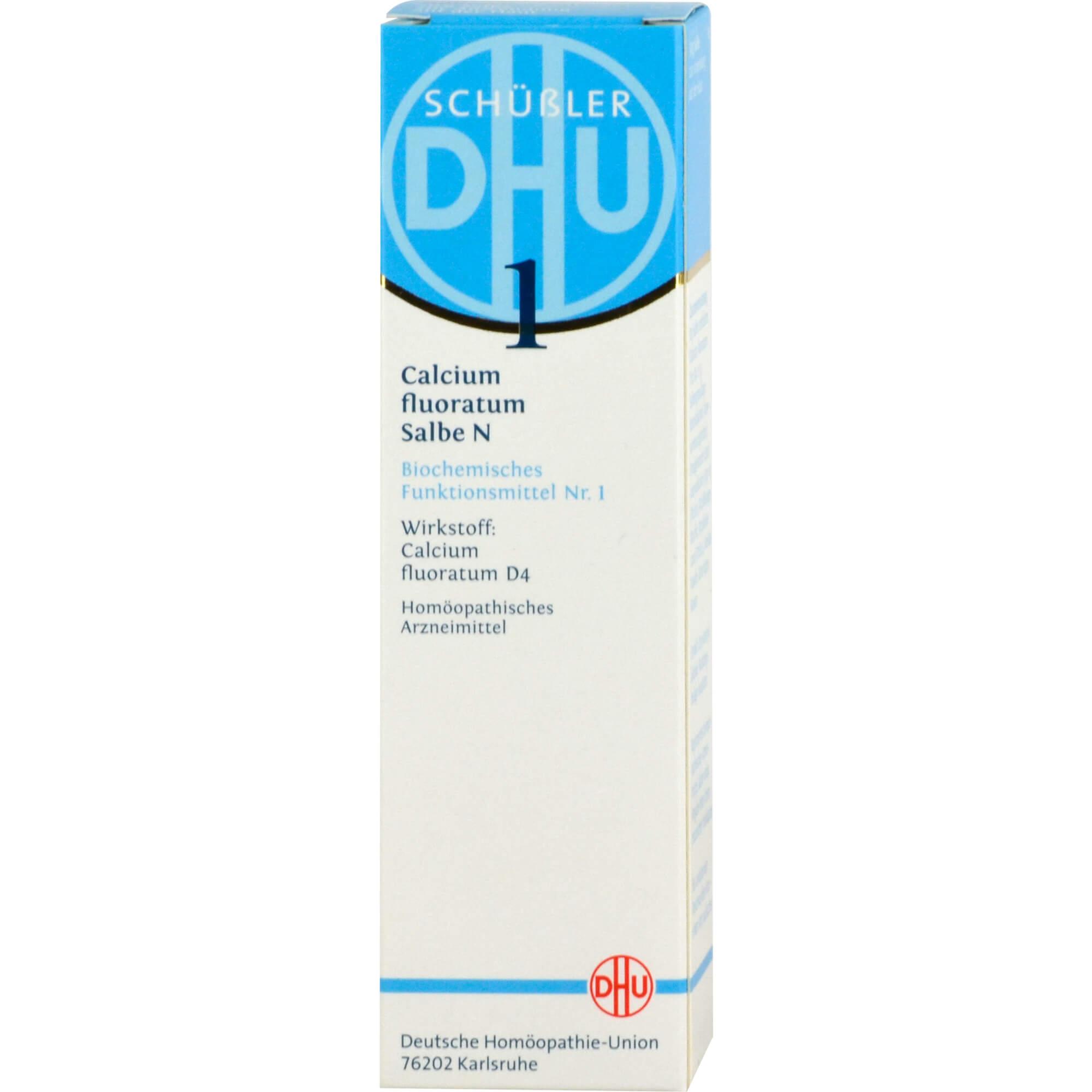 BIOCHEMIE DHU 1 Calcium fluoratum N D 4 Salbe