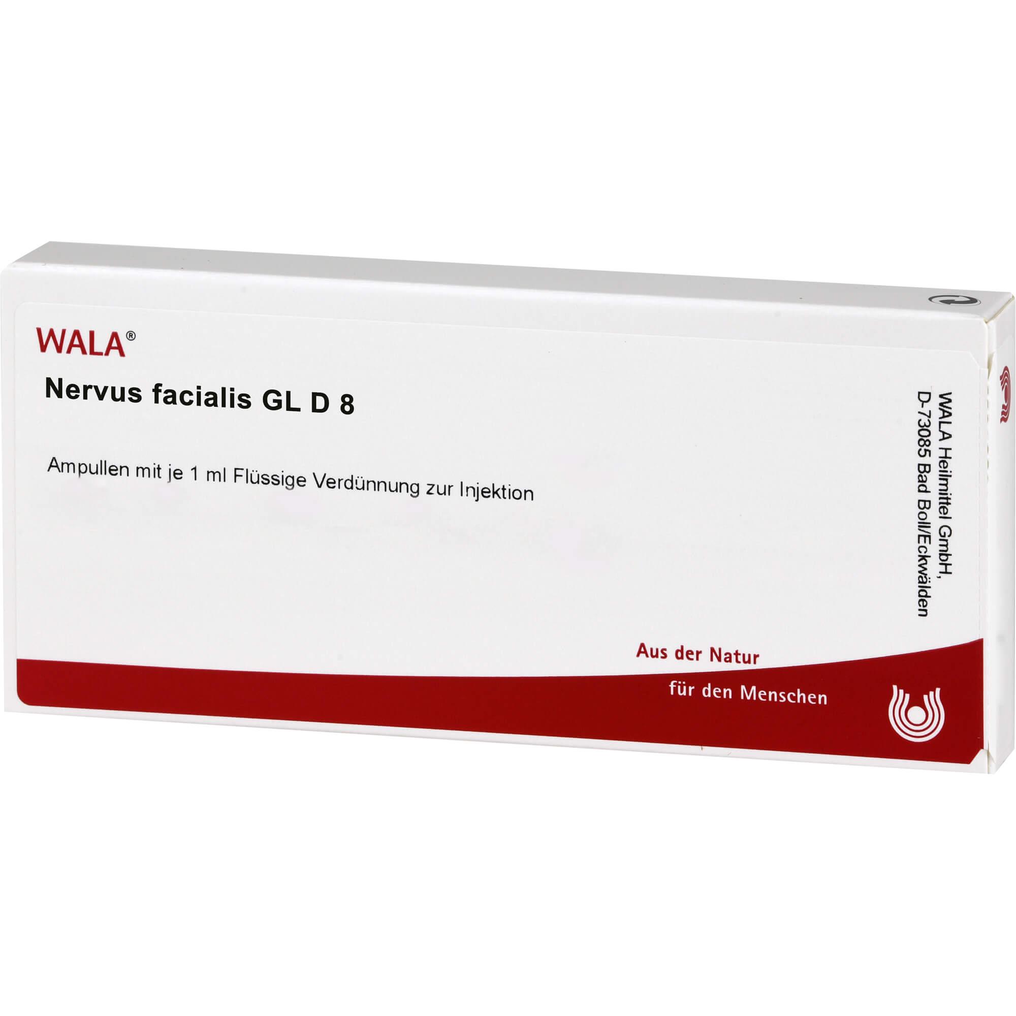 NERVUS FACIALIS GL D 8 Ampullen