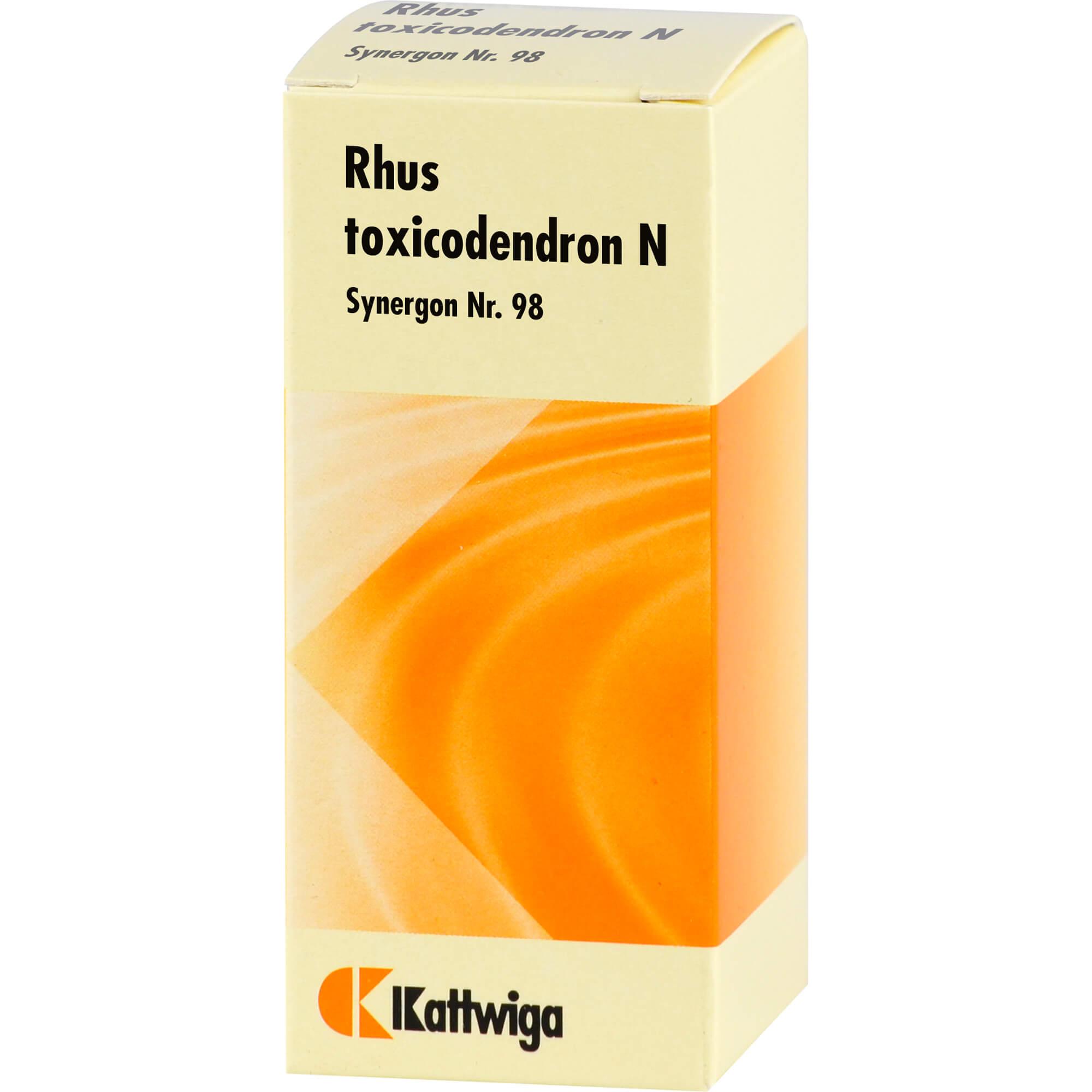 SYNERGON KOMPLEX 98 Rhus toxicodendron N Tropfen