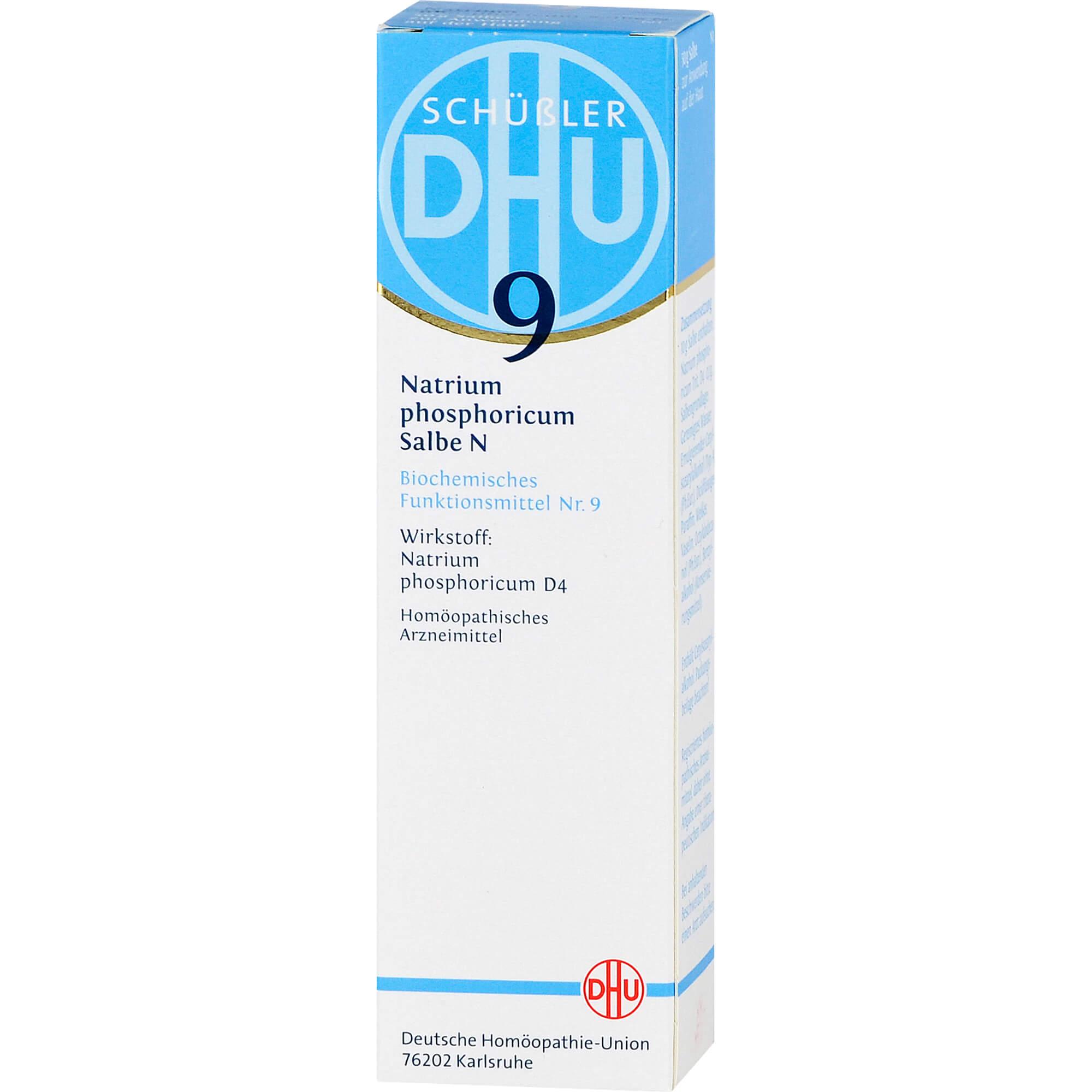 BIOCHEMIE DHU 9 Natrium phosphoricum N D 4 Salbe