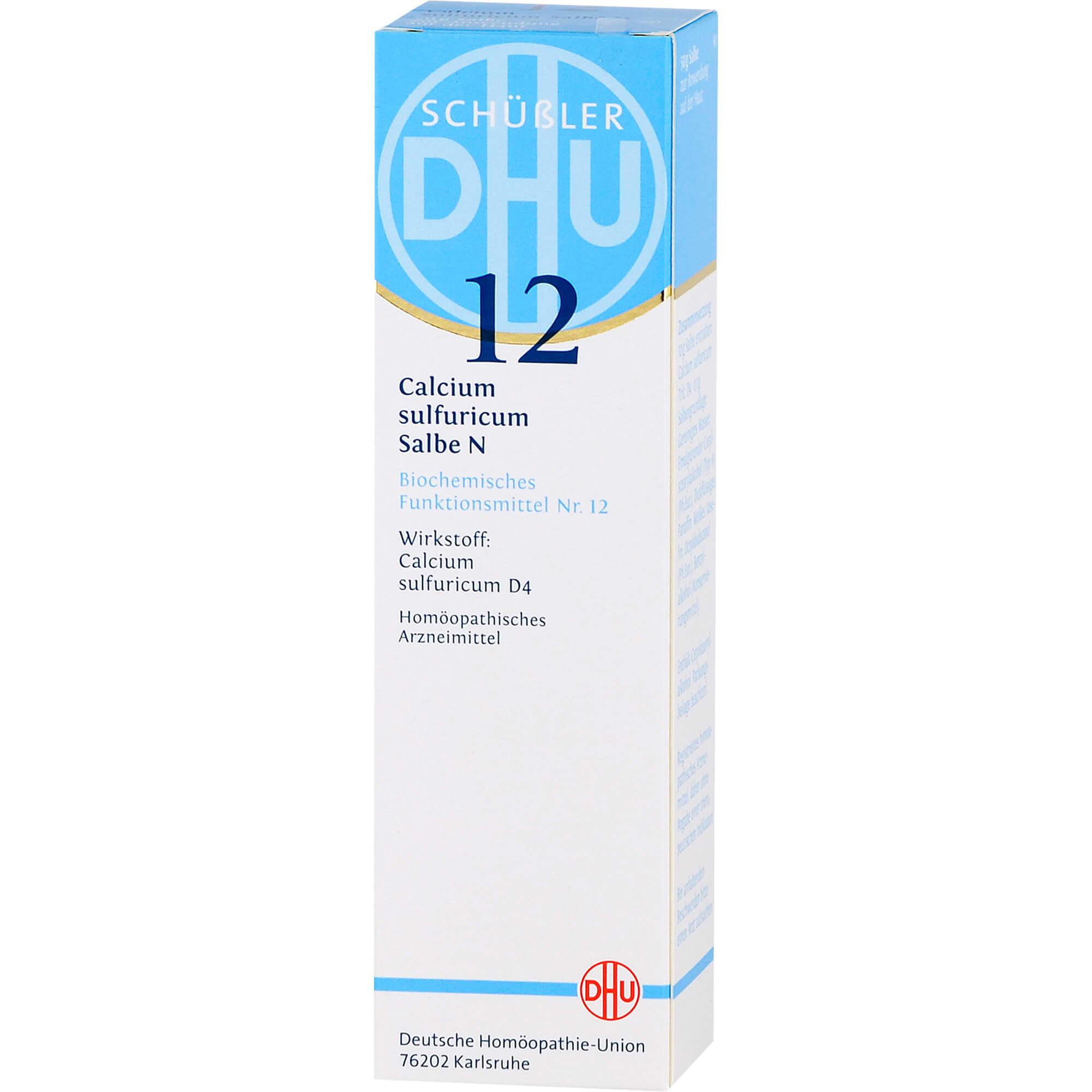 BIOCHEMIE DHU 12 Calcium sulfuricum N D 4 Salbe
