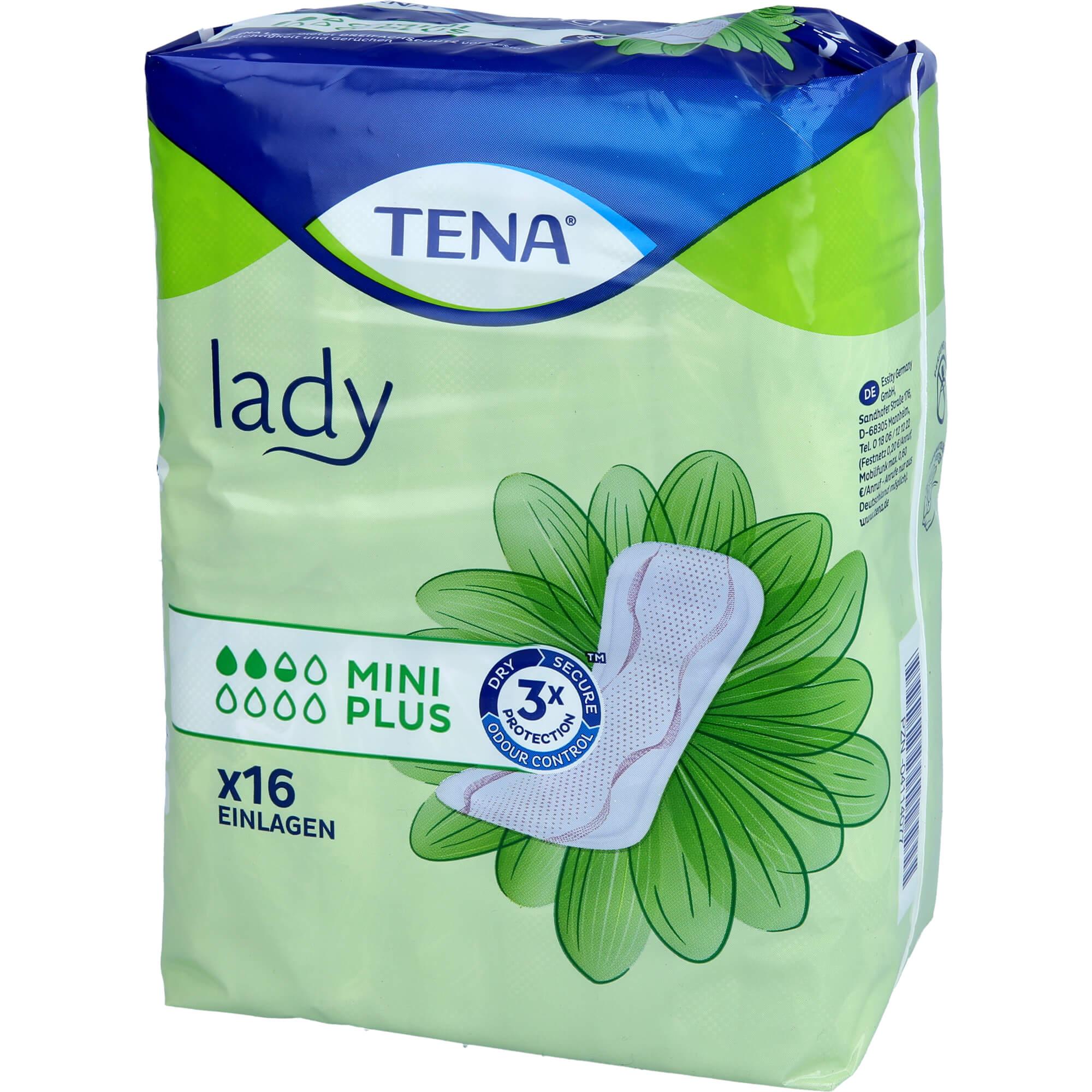 TENA LADY mini plus Einlagen
