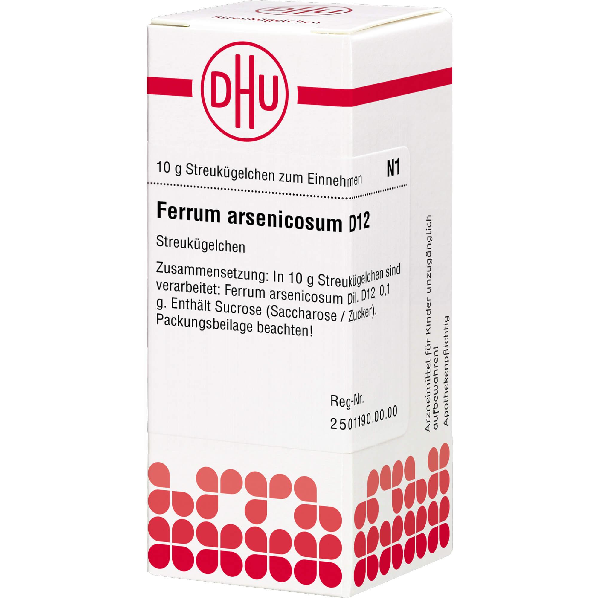 FERRUM ARSENICOSUM D 12 Globuli