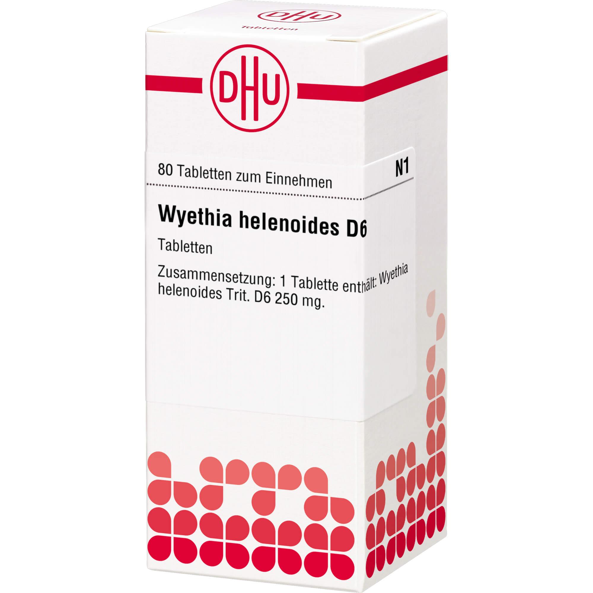 WYETHIA HELENIOIDES D 6 Tabletten