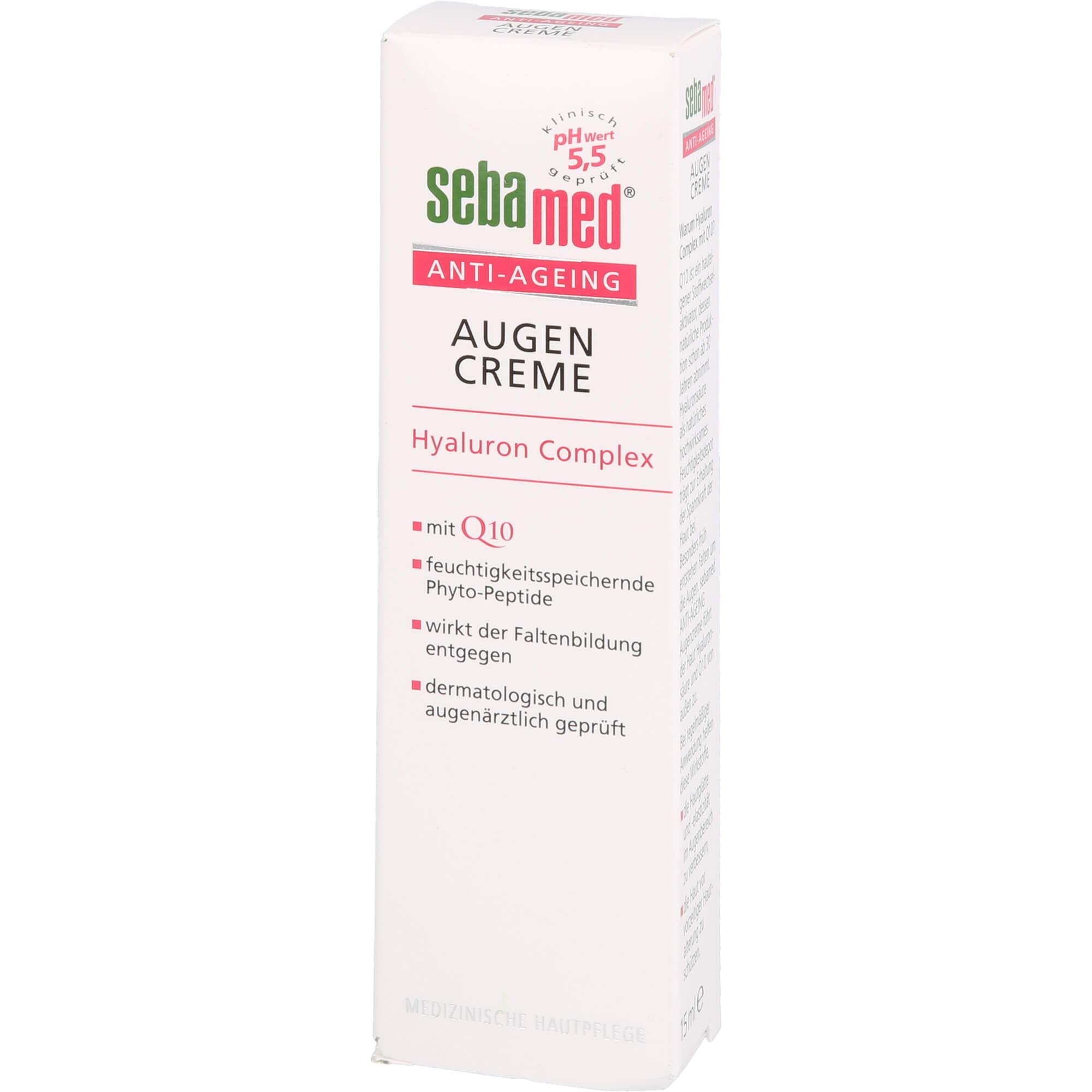 SEBAMED Anti-Ageing Augencreme Q10