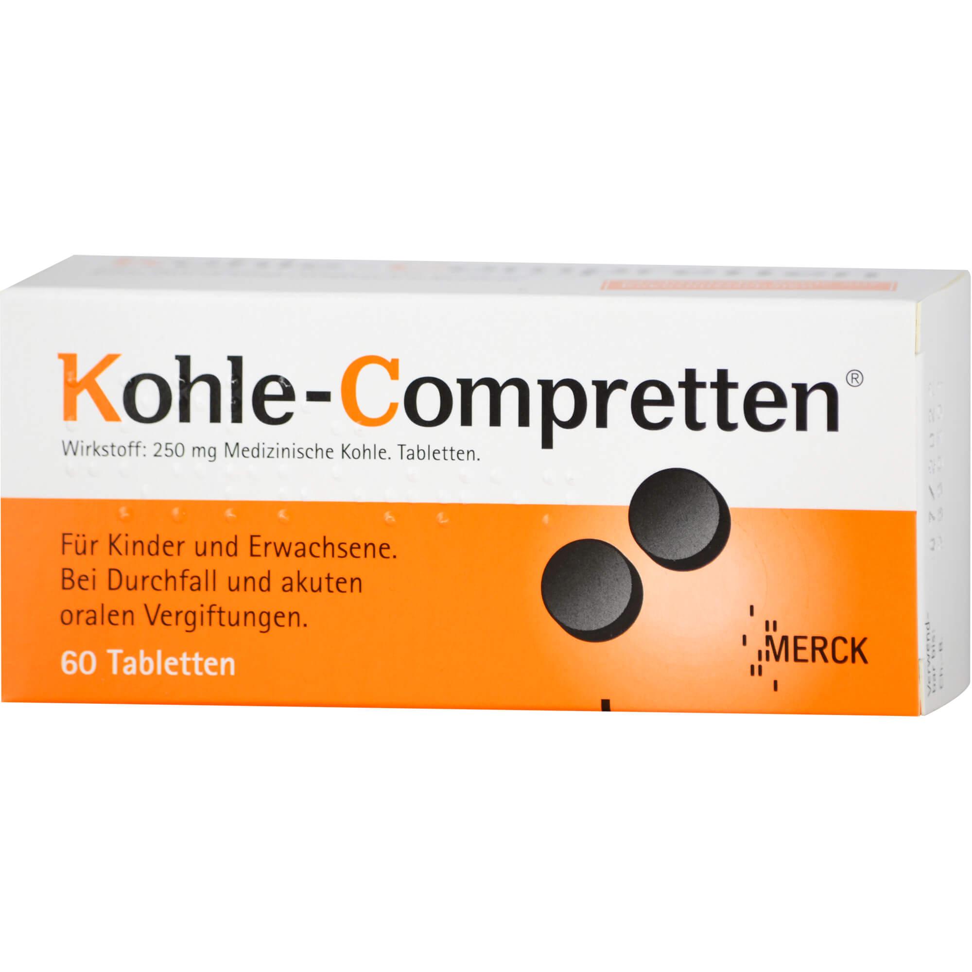 KOHLE Compretten Tabletten
