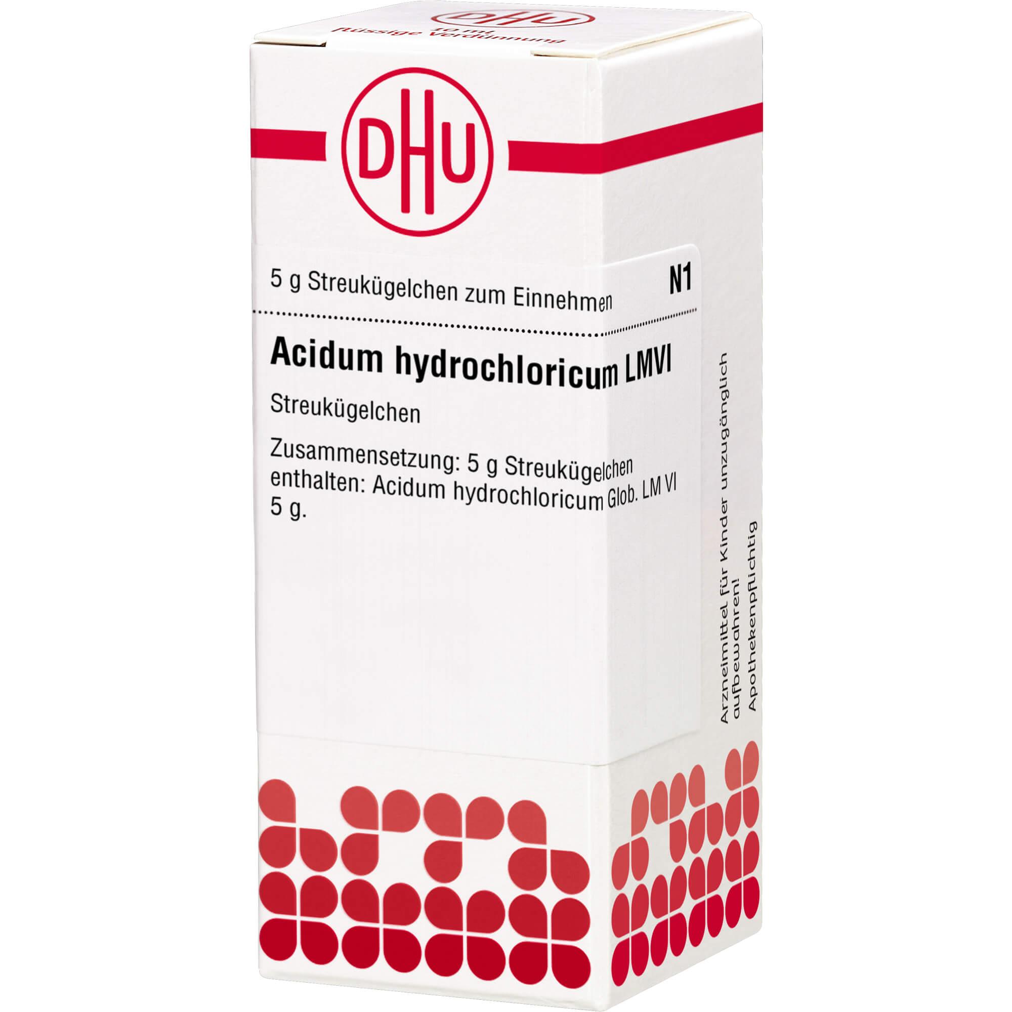 LM ACIDUM hydrochloricum VI Globuli