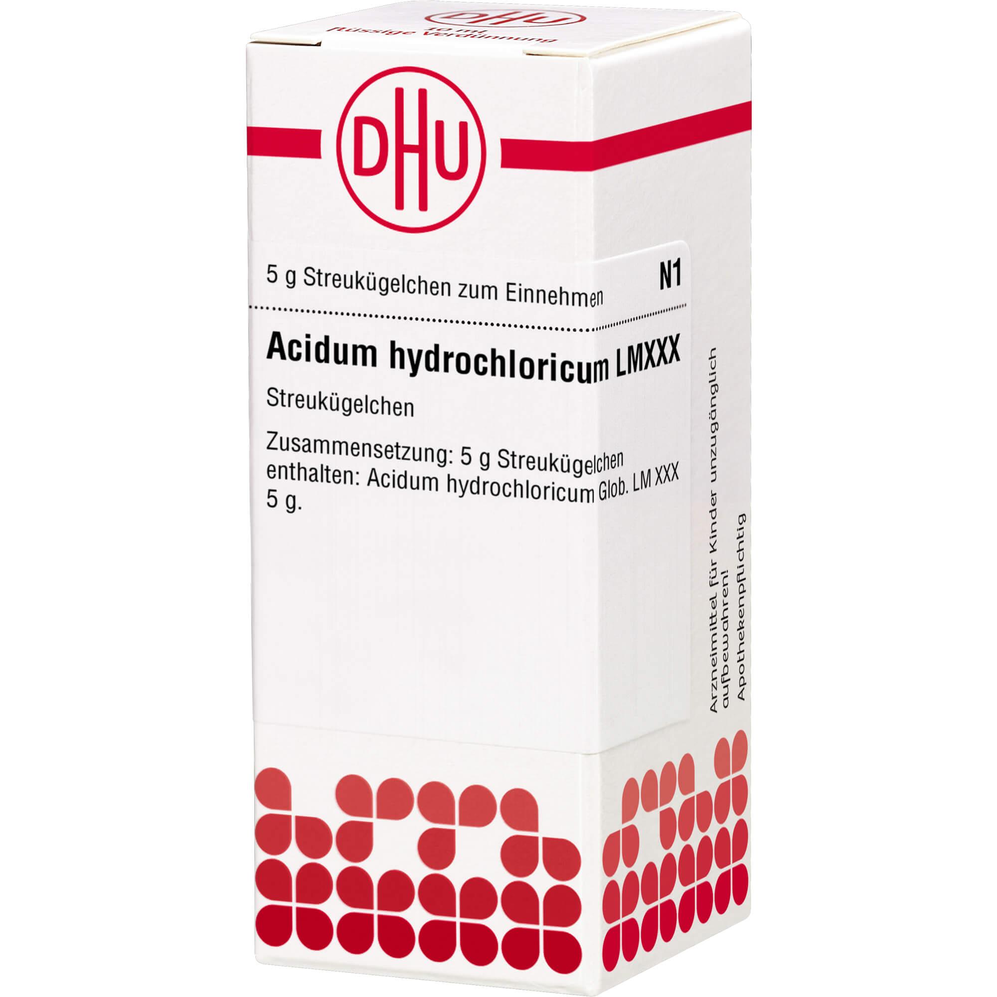 LM ACIDUM hydrochloricum XXX Globuli