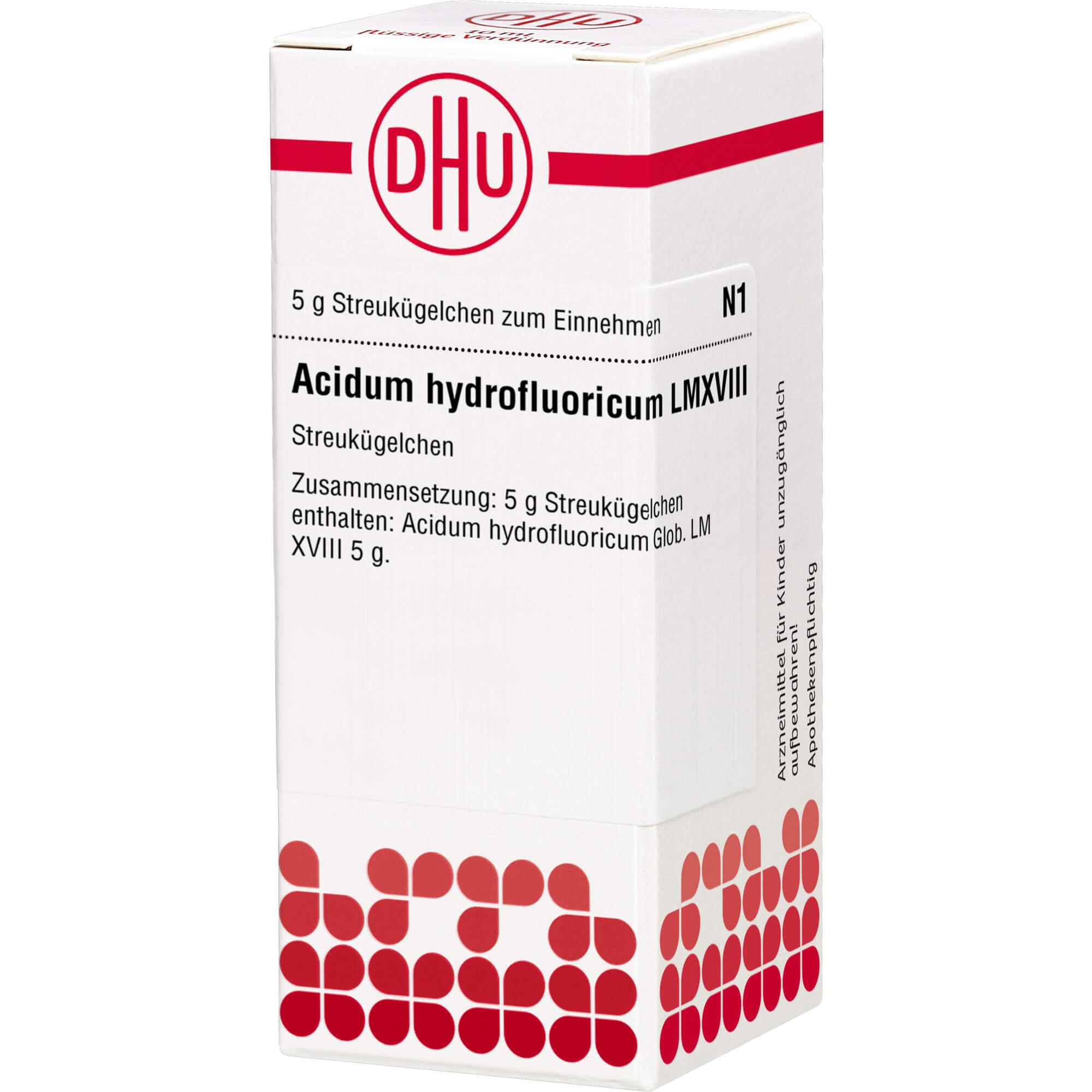 LM ACIDUM hydrofluoricum XVIII Globuli