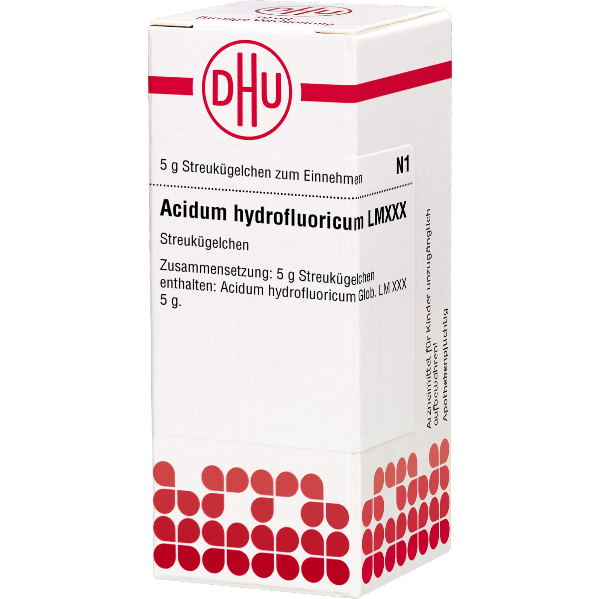 LM ACIDUM hydrofluoricum XXX Globuli