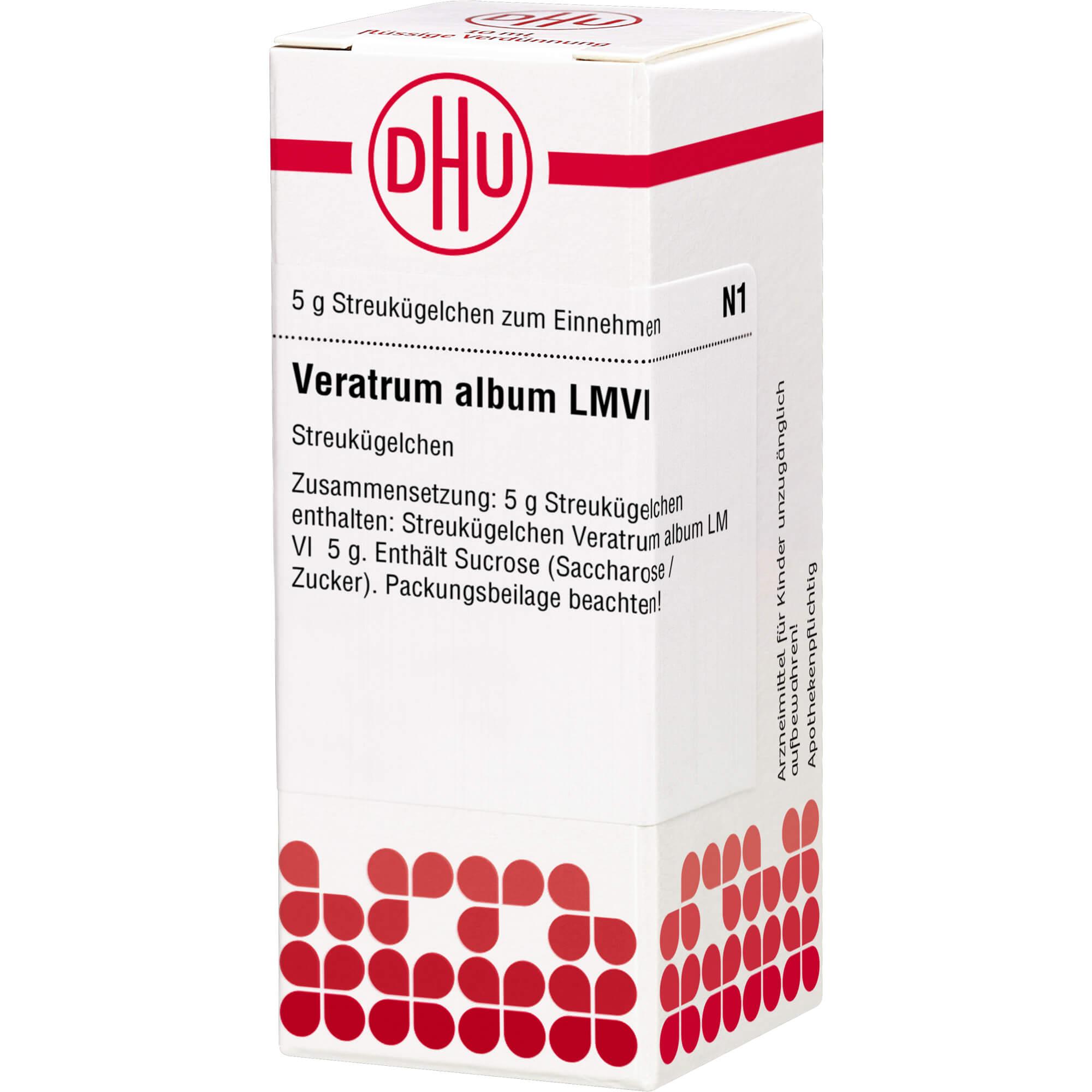 LM VERATRUM album VI Globuli