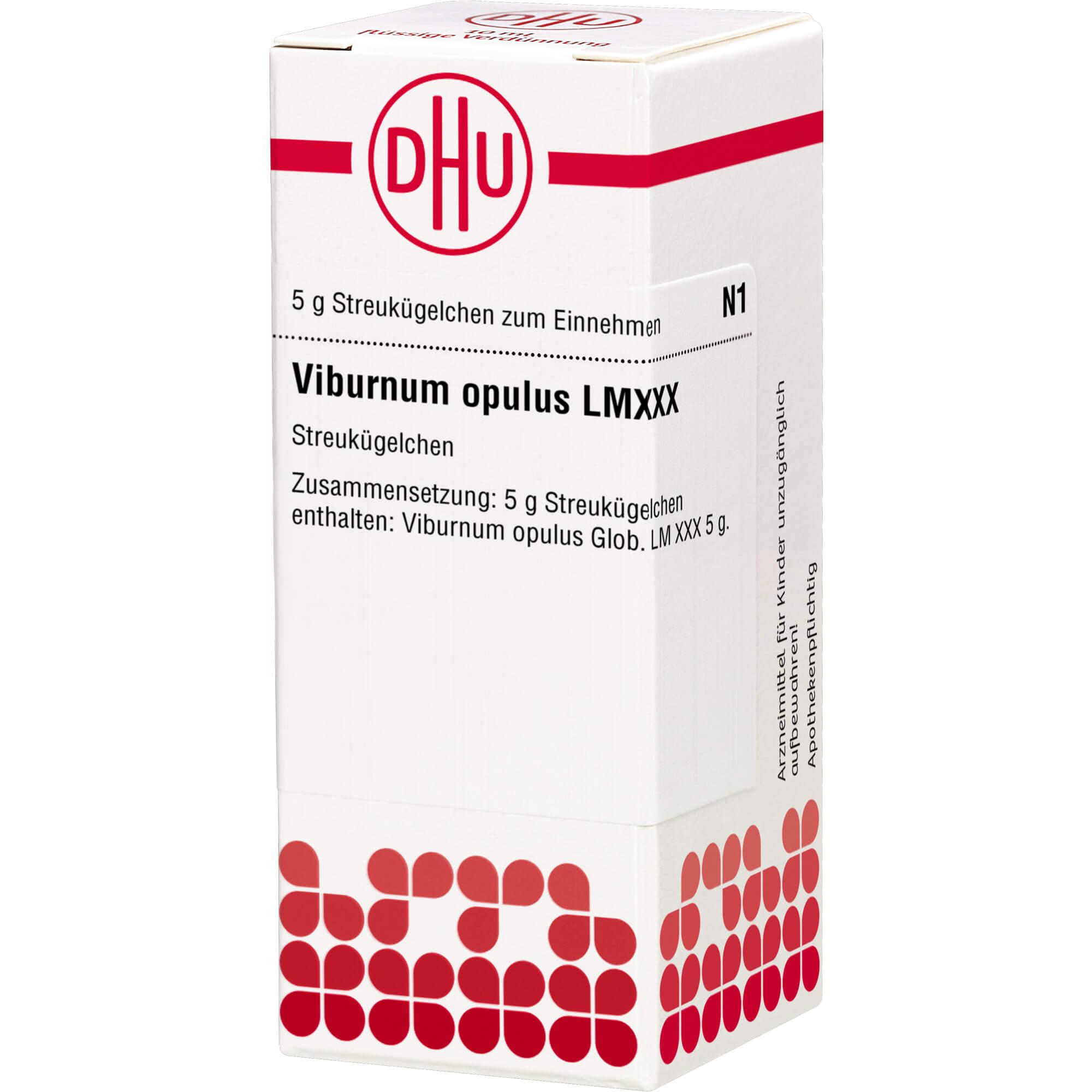 LM VIBURNUM opulus XXX Globuli