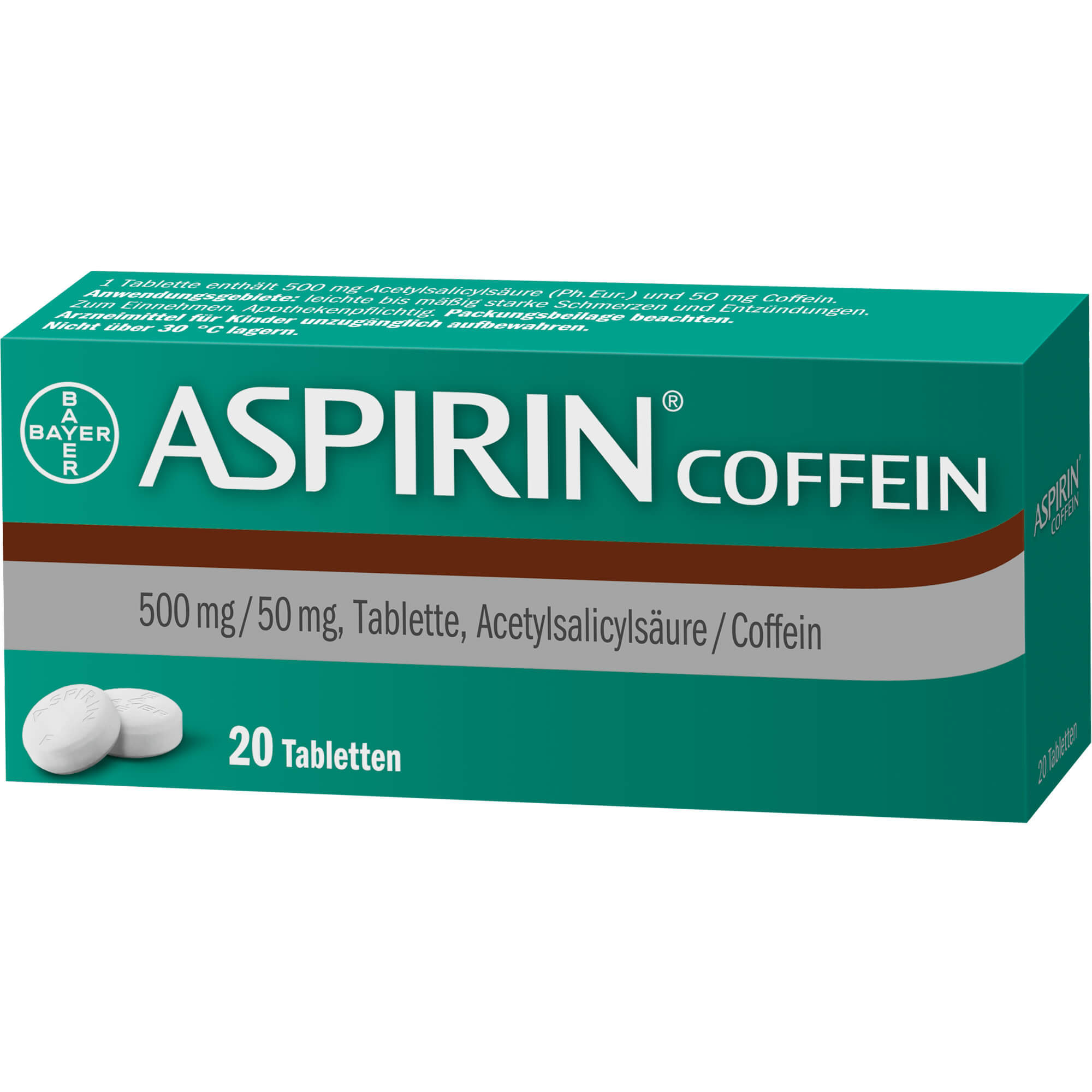 ASPIRIN Coffein Tabletten