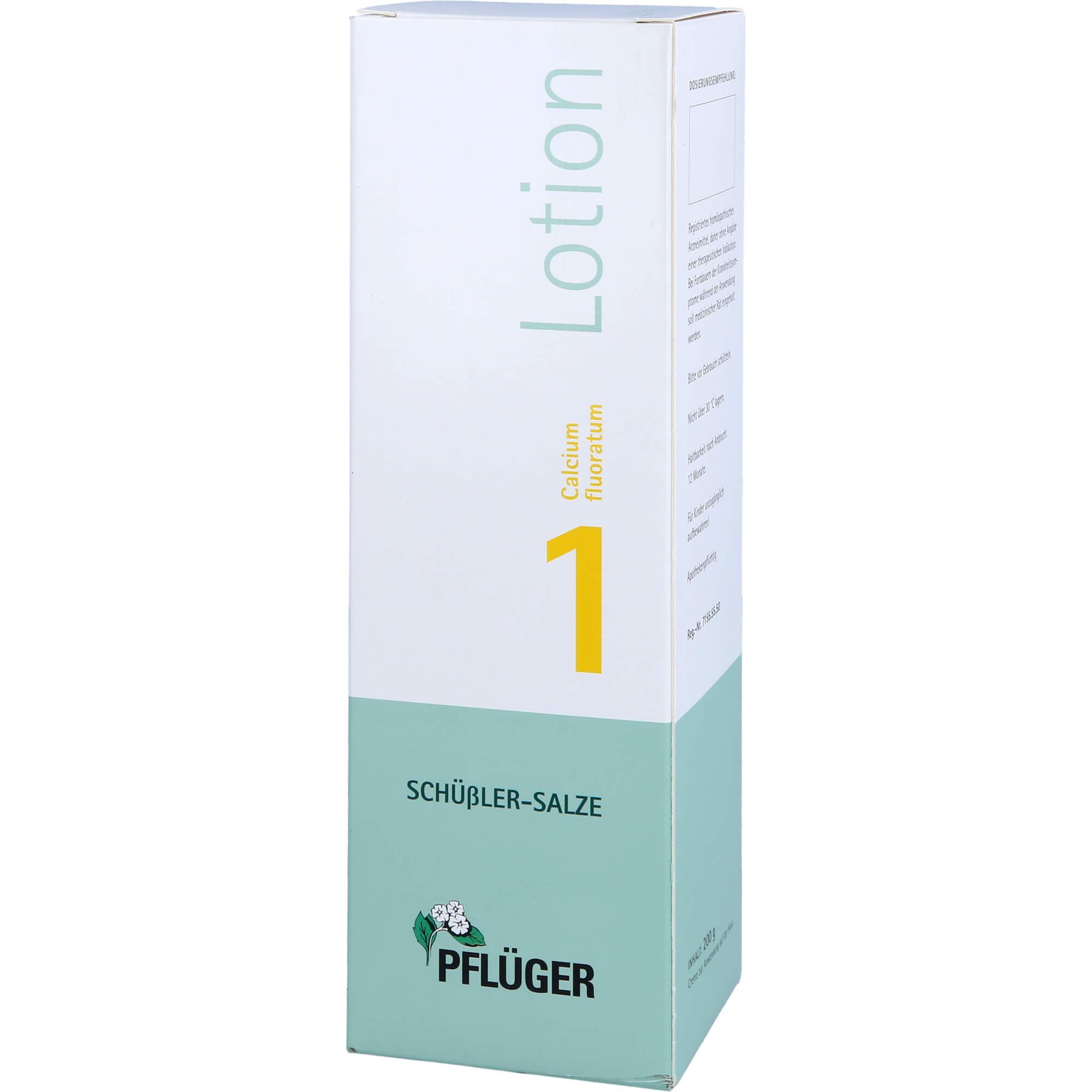 BIOCHEMIE Pflüger 1 Calcium fluoratum Lotion