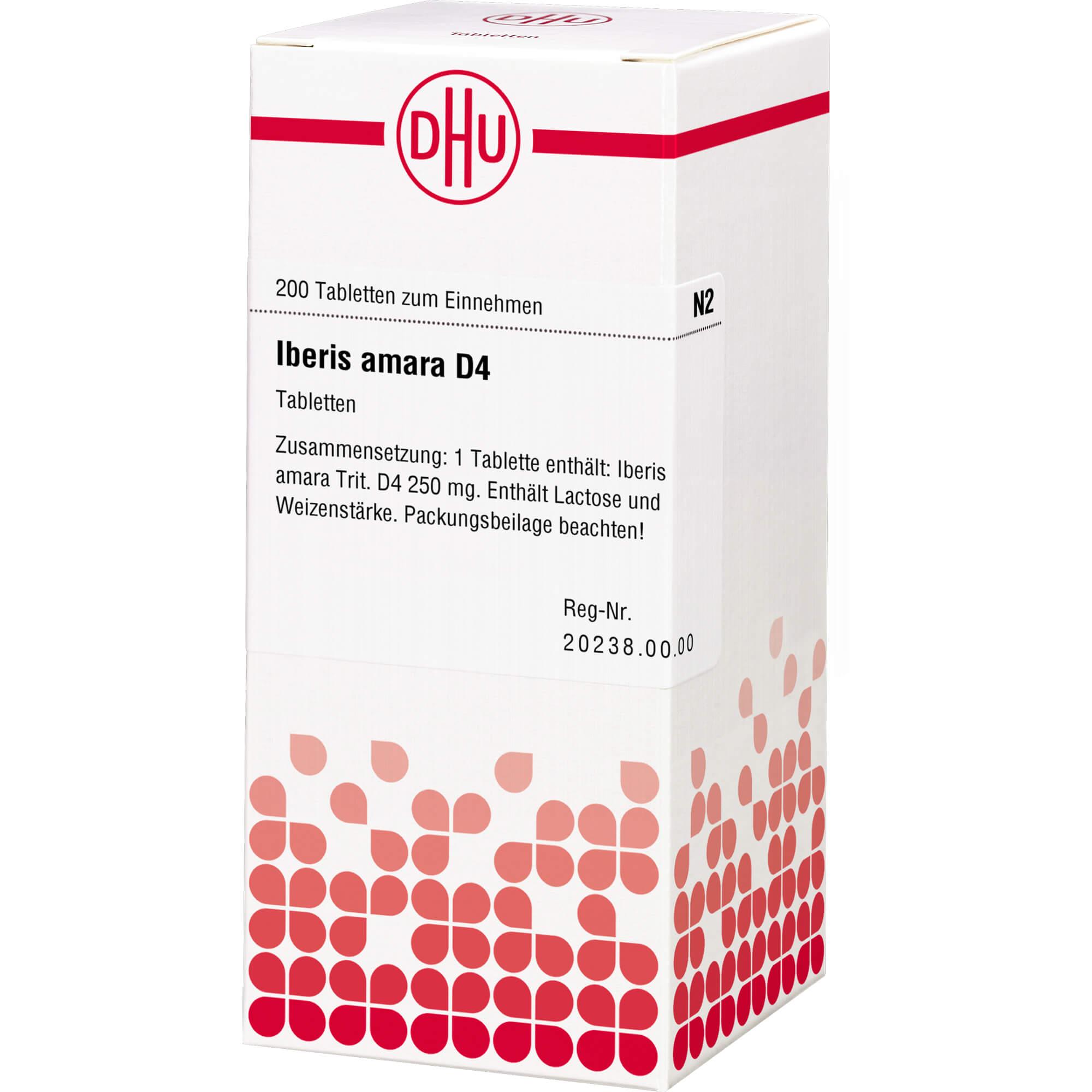 IBERIS amara D 4 Tabletten