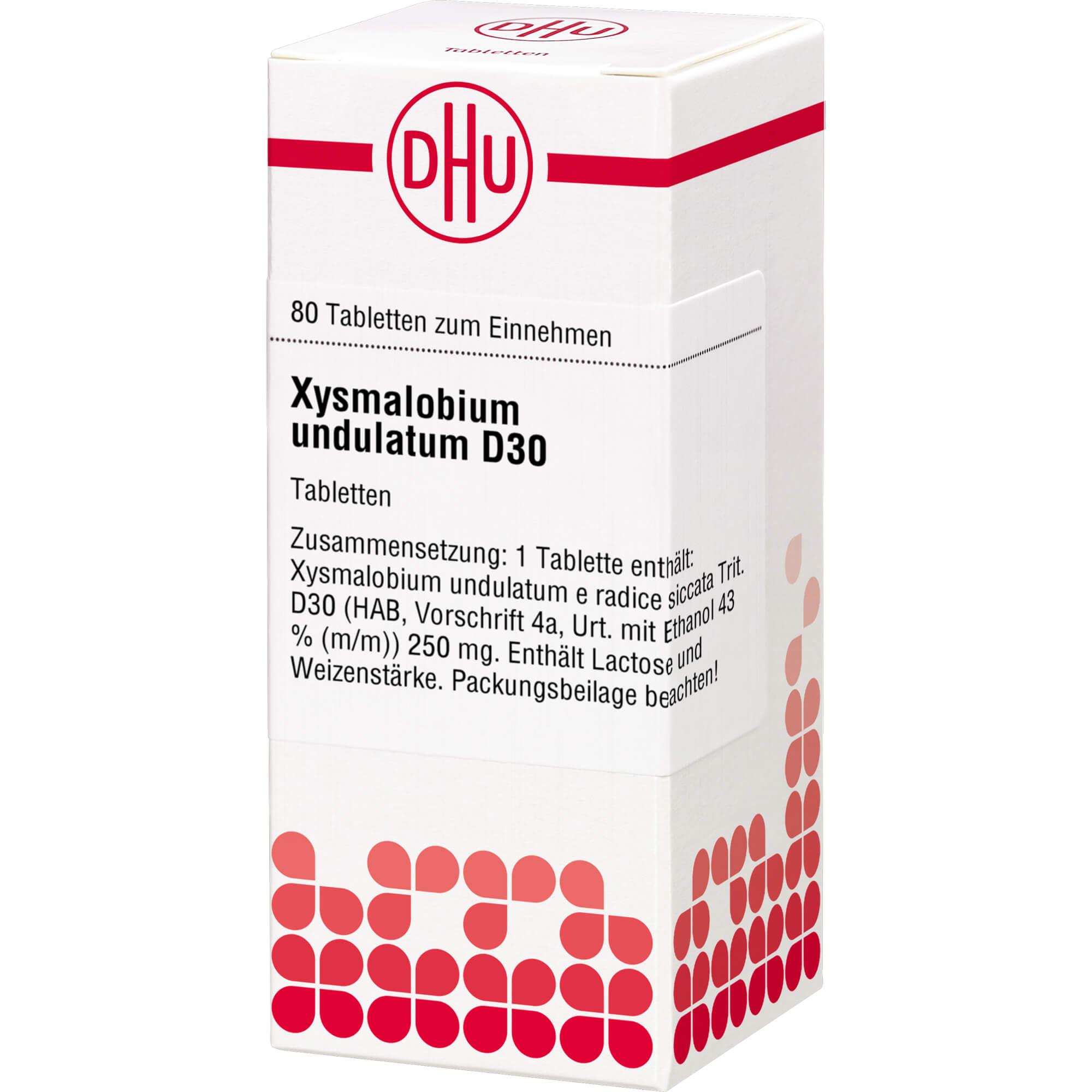 XYSMALOBIUM undulatum D 30 Tabletten