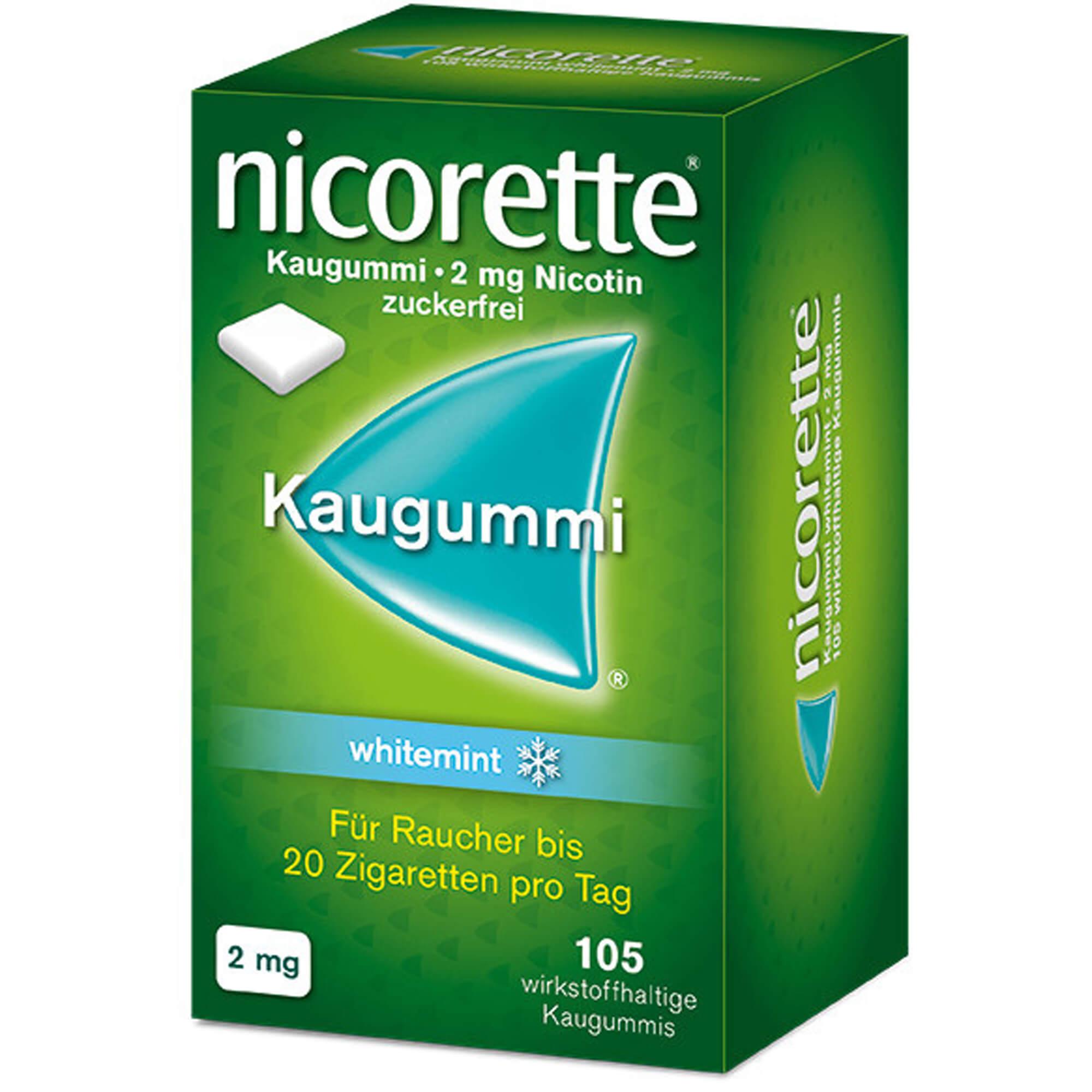 NICORETTE Kaugummi 2 mg whitemint