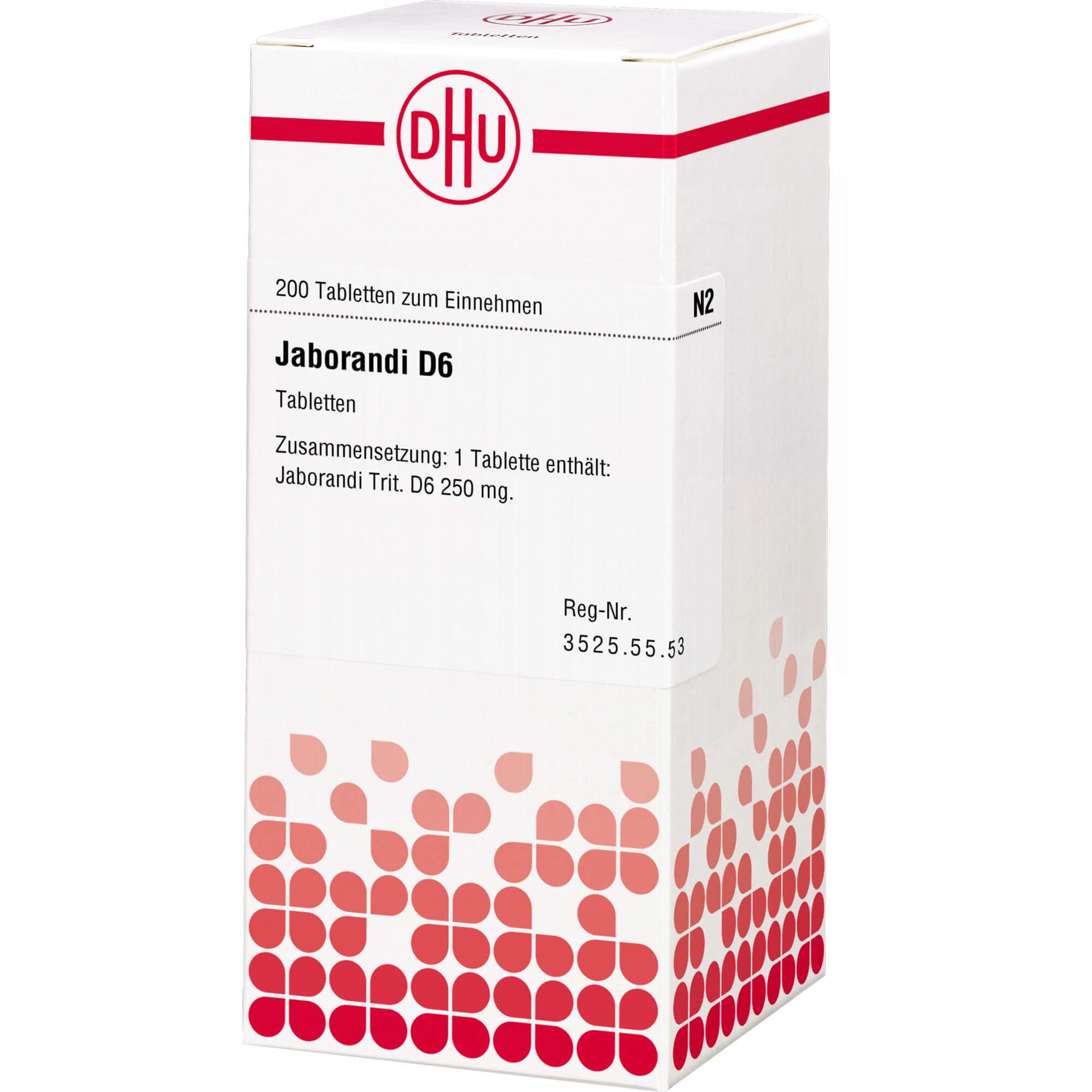 JABORANDI D 6 Tabletten