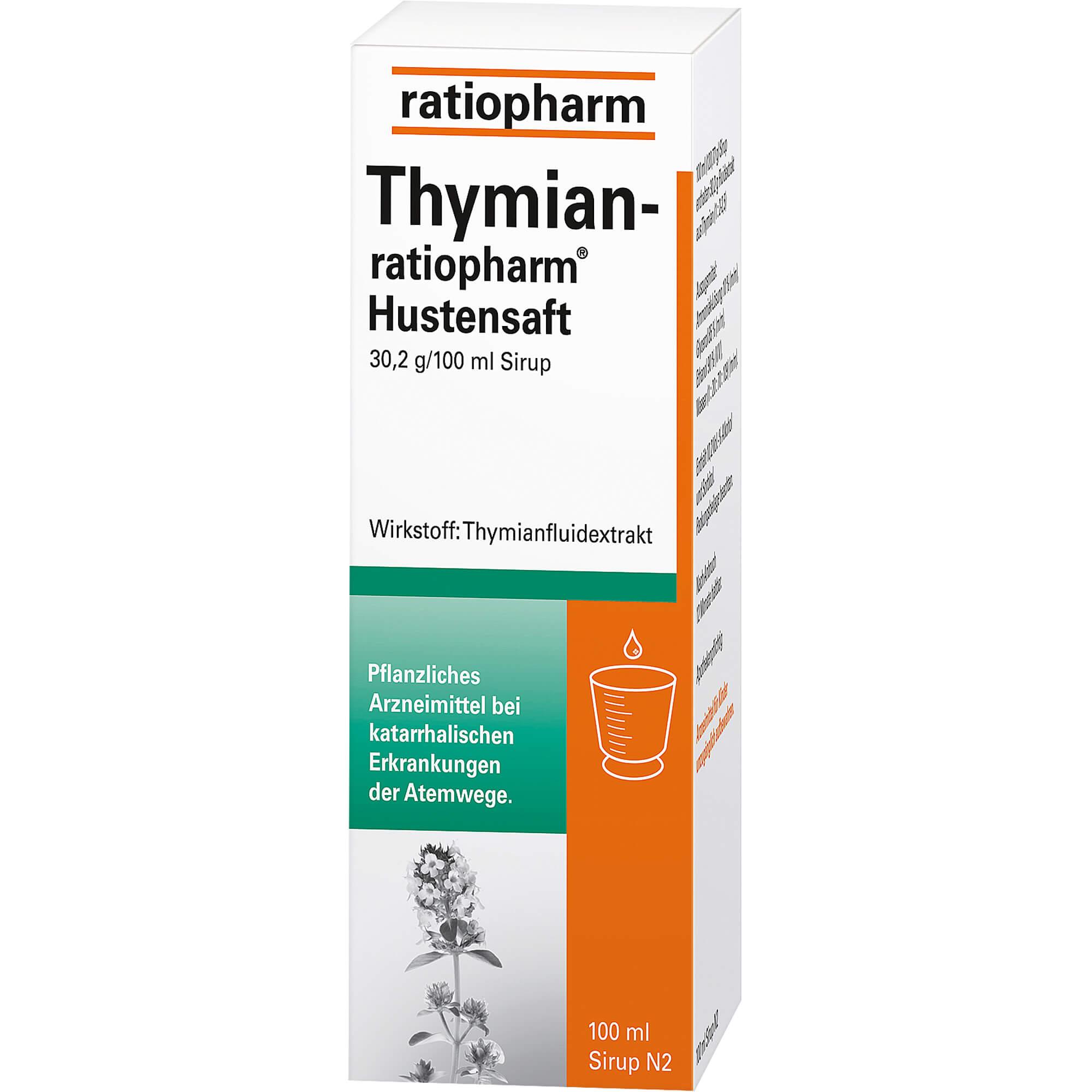 THYMIAN-RATIOPHARM Hustensaft
