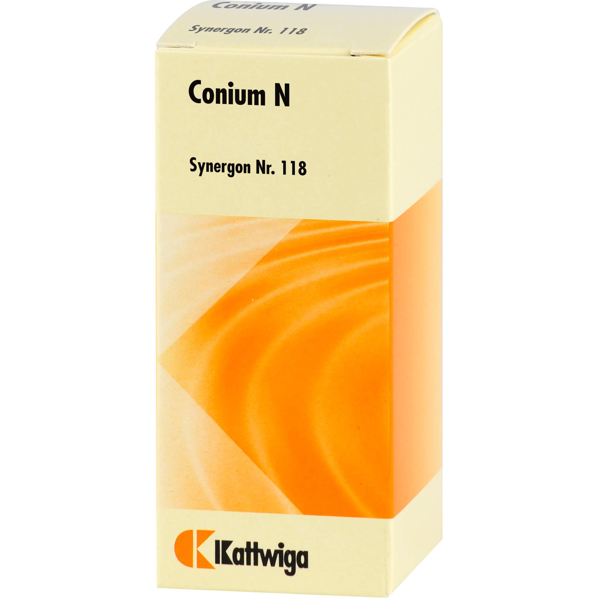 SYNERGON KOMPLEX 118 Conium N Tropfen