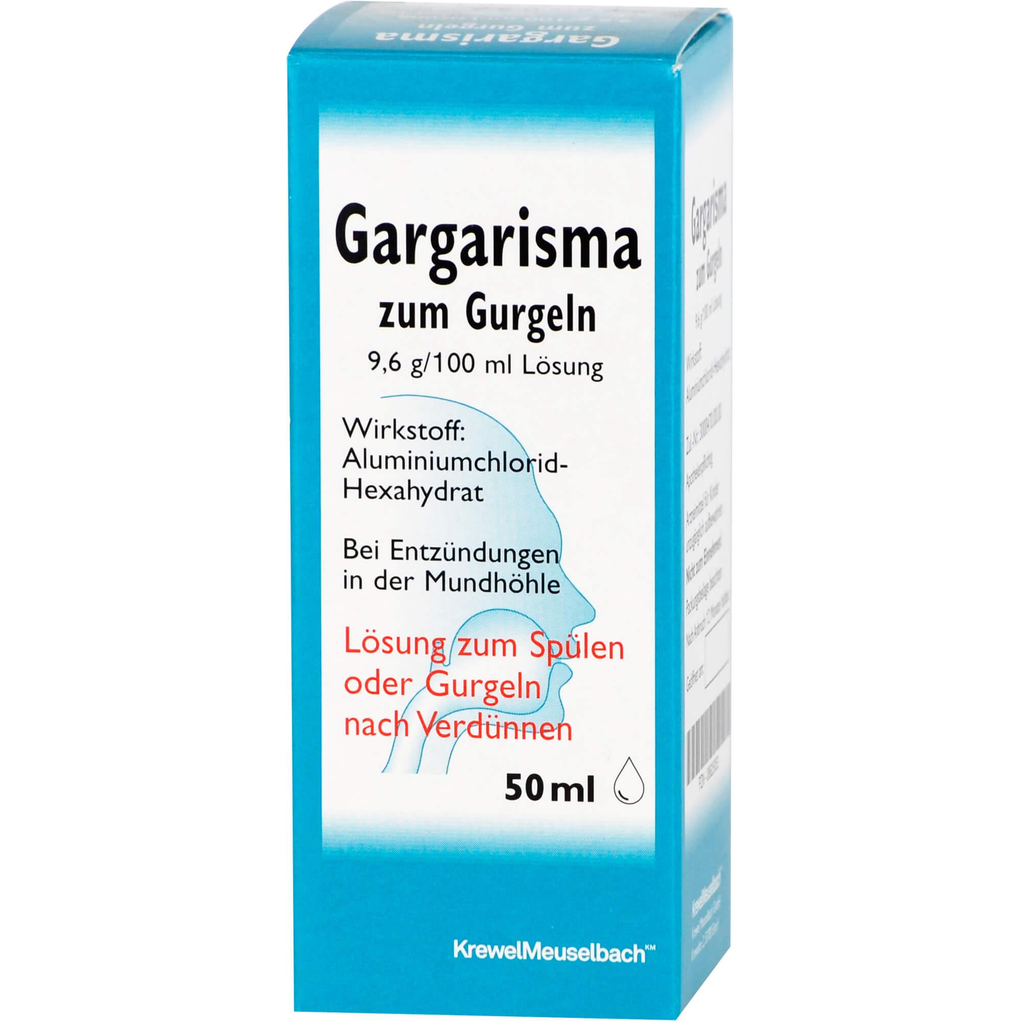 GARGARISMA zum Gurgeln Liquidum