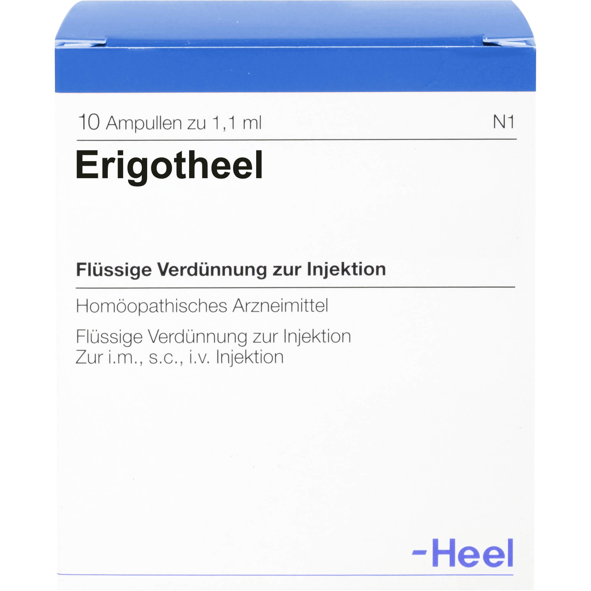 ERIGOTHEEL Ampullen