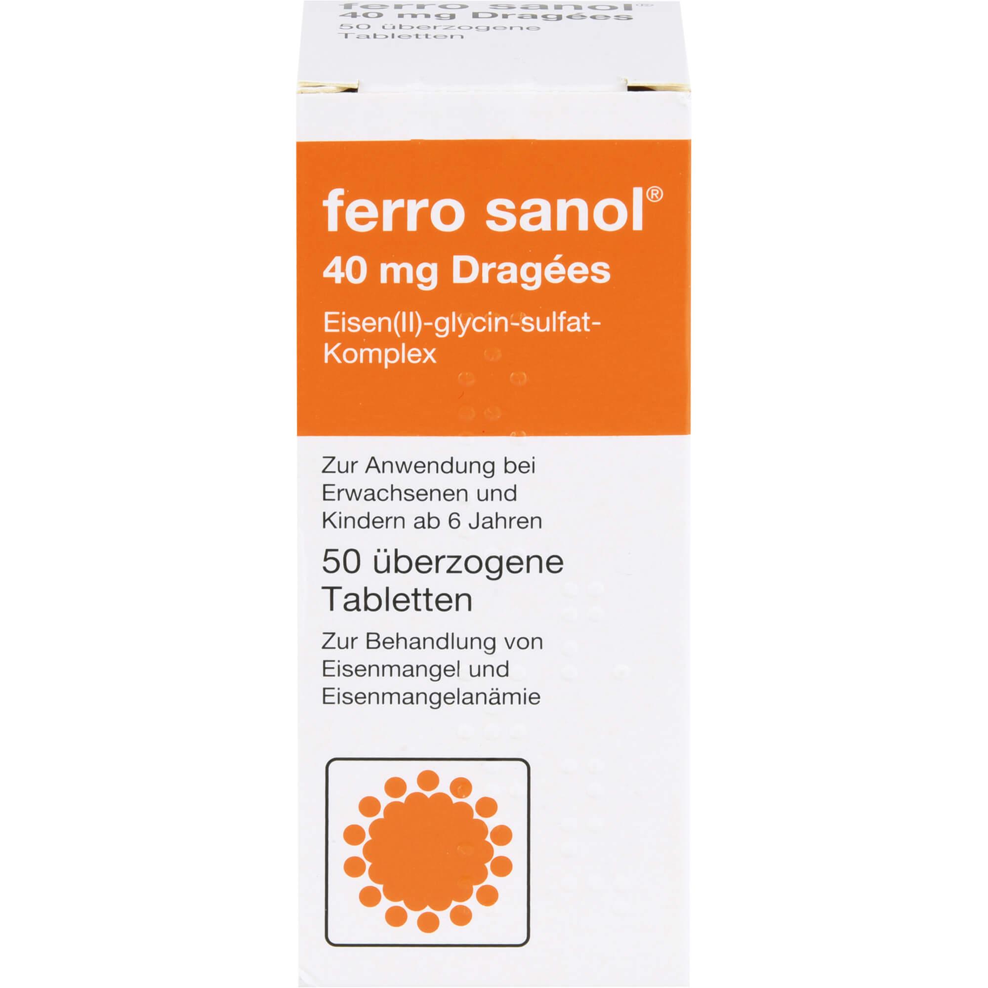 FERRO SANOL überzogene Tabletten