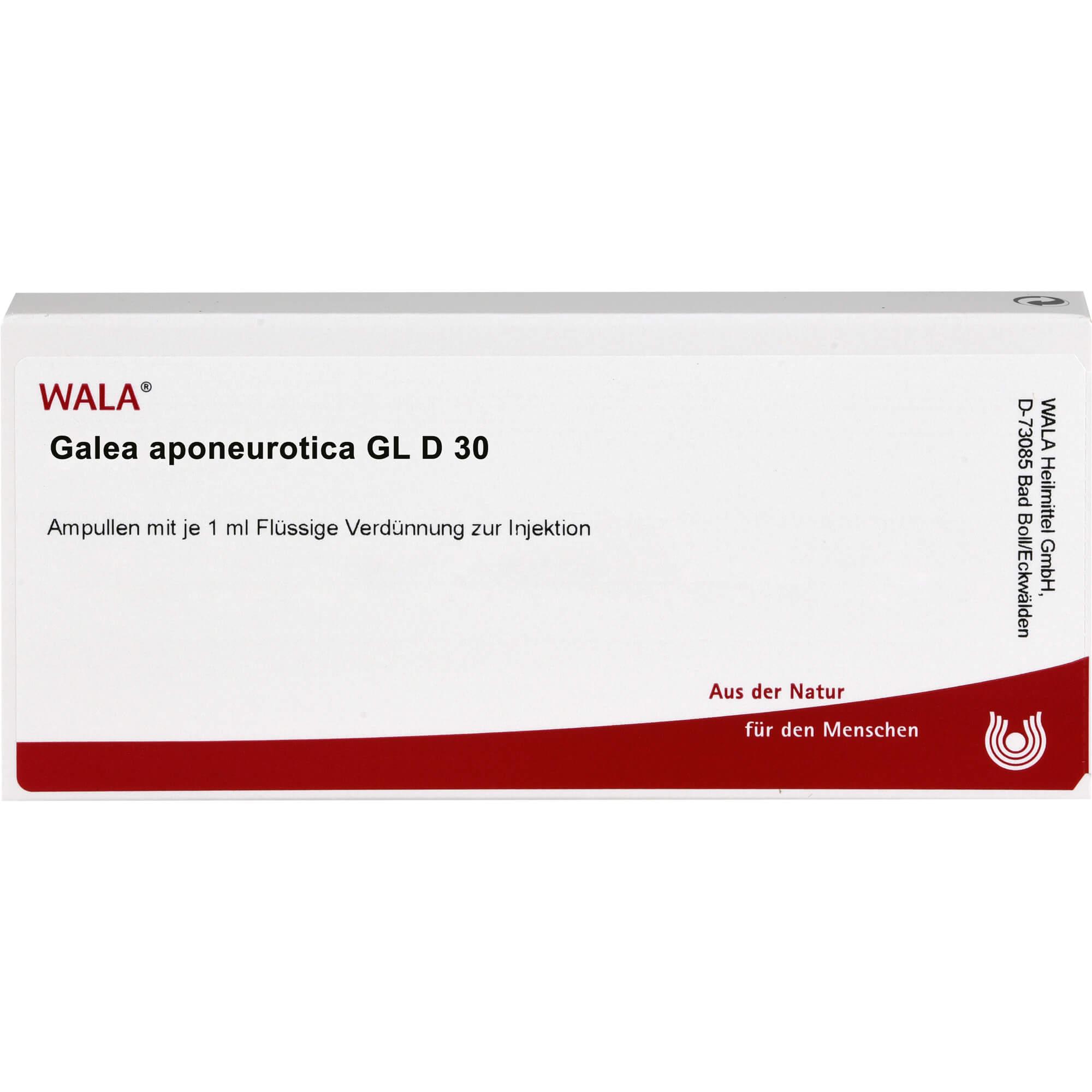 GALEA aponeurotica GL D 30 Ampullen