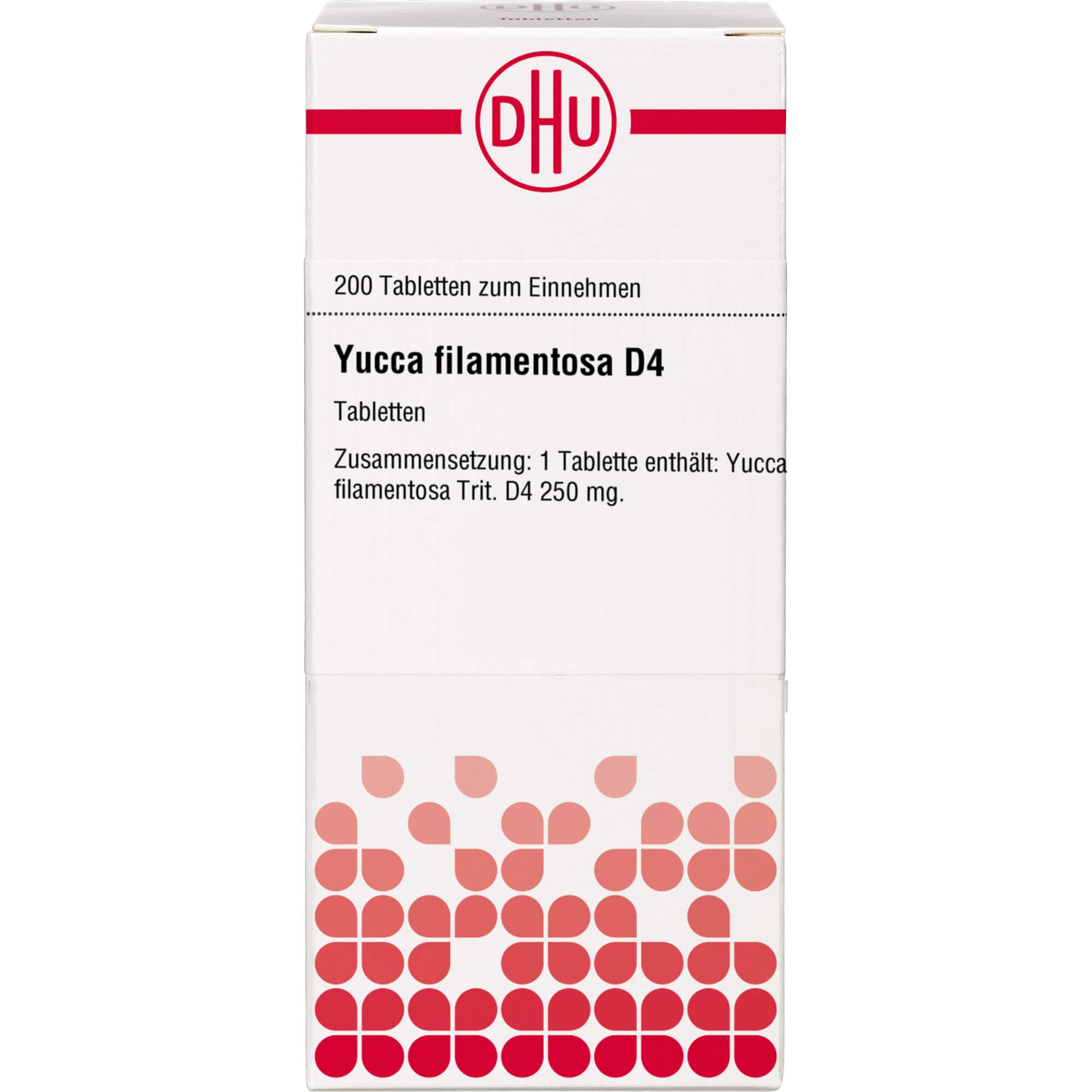 YUCCA FILAMENTOSA D 4 Tabletten