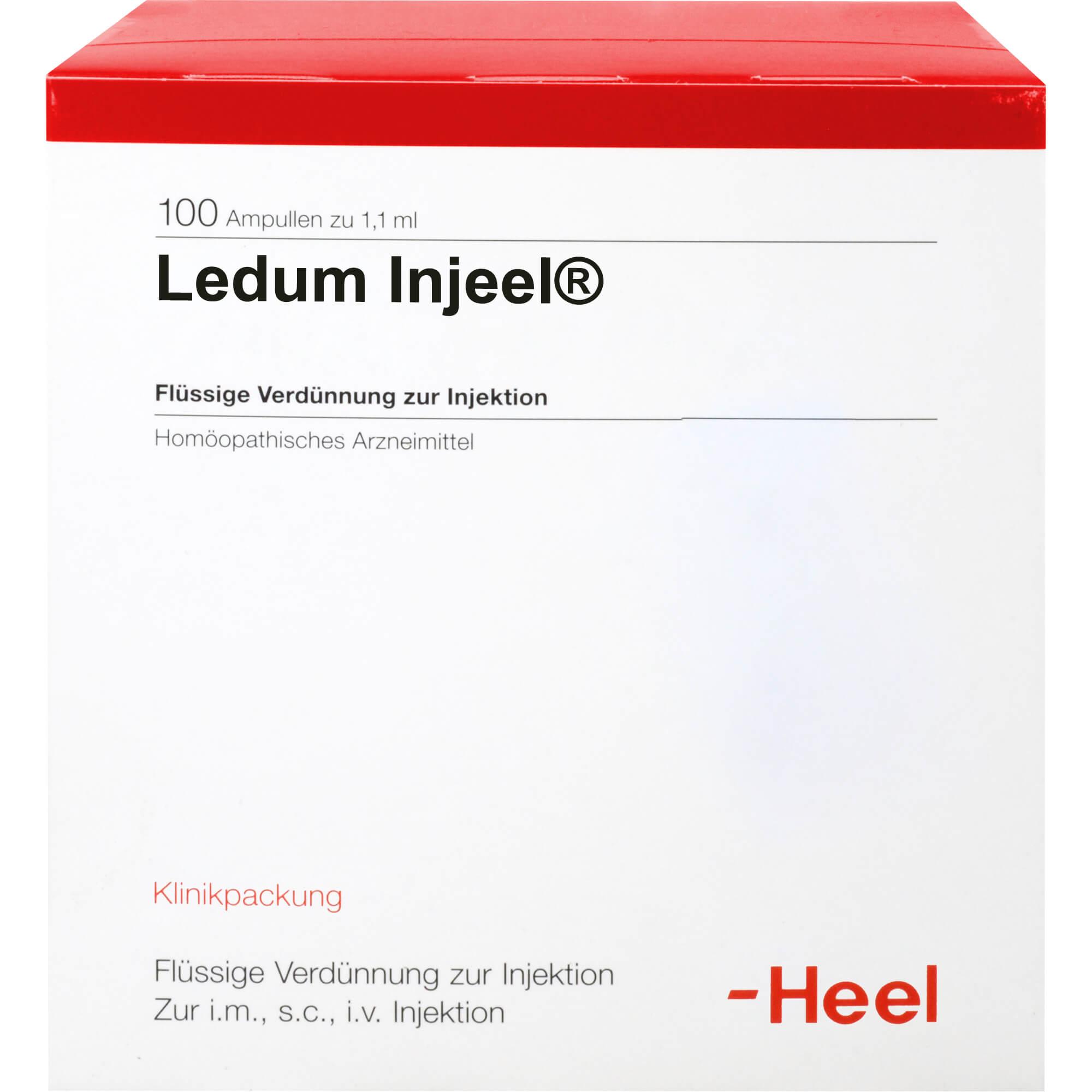 LEDUM INJEEL Ampullen