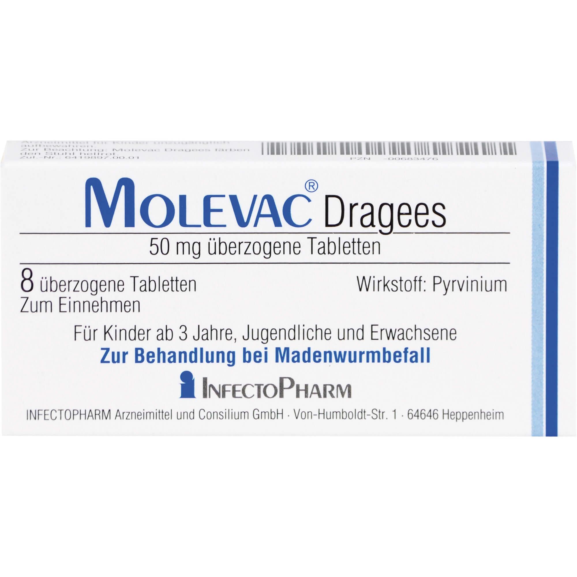 MOLEVAC Dragees