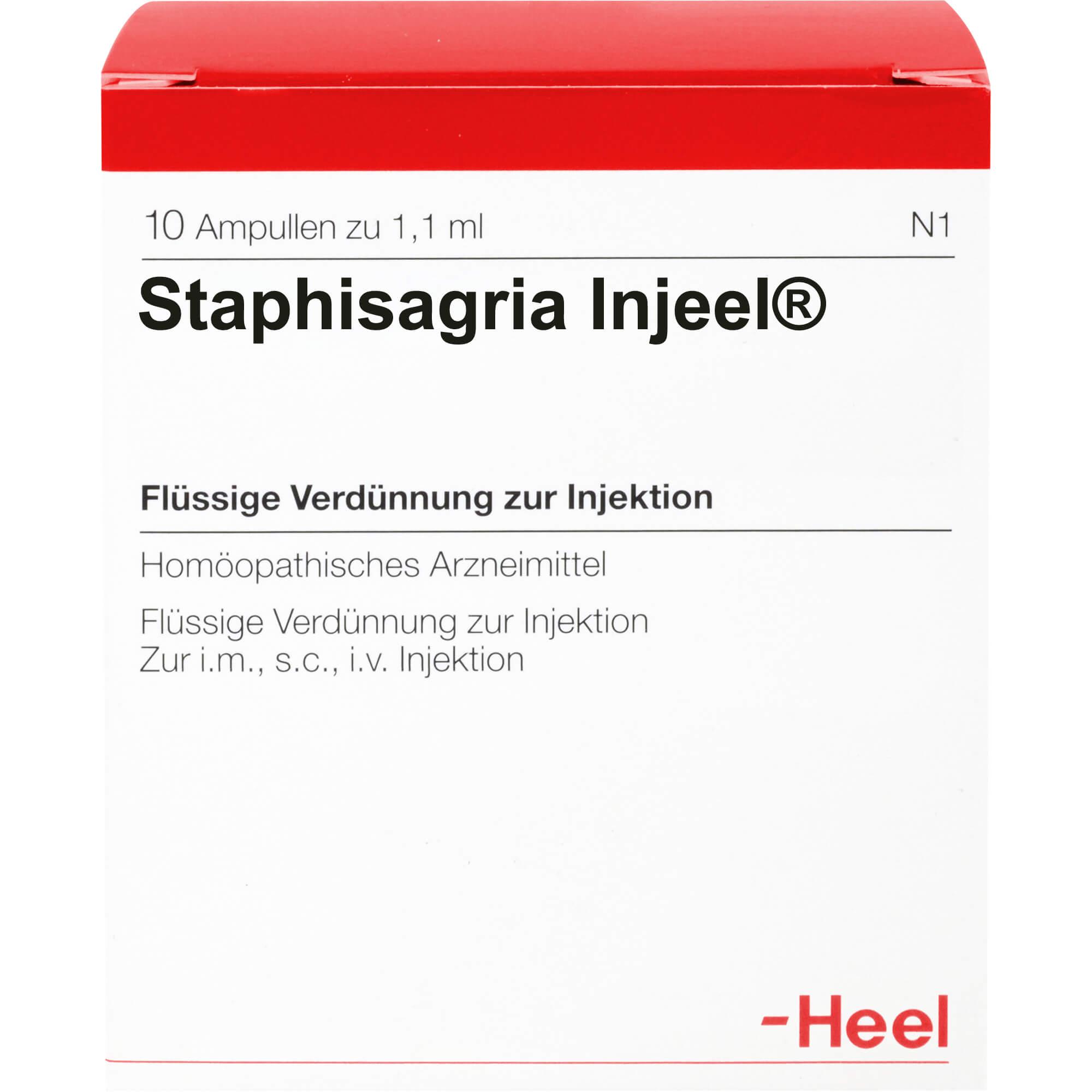STAPHISAGRIA INJEEL Ampullen