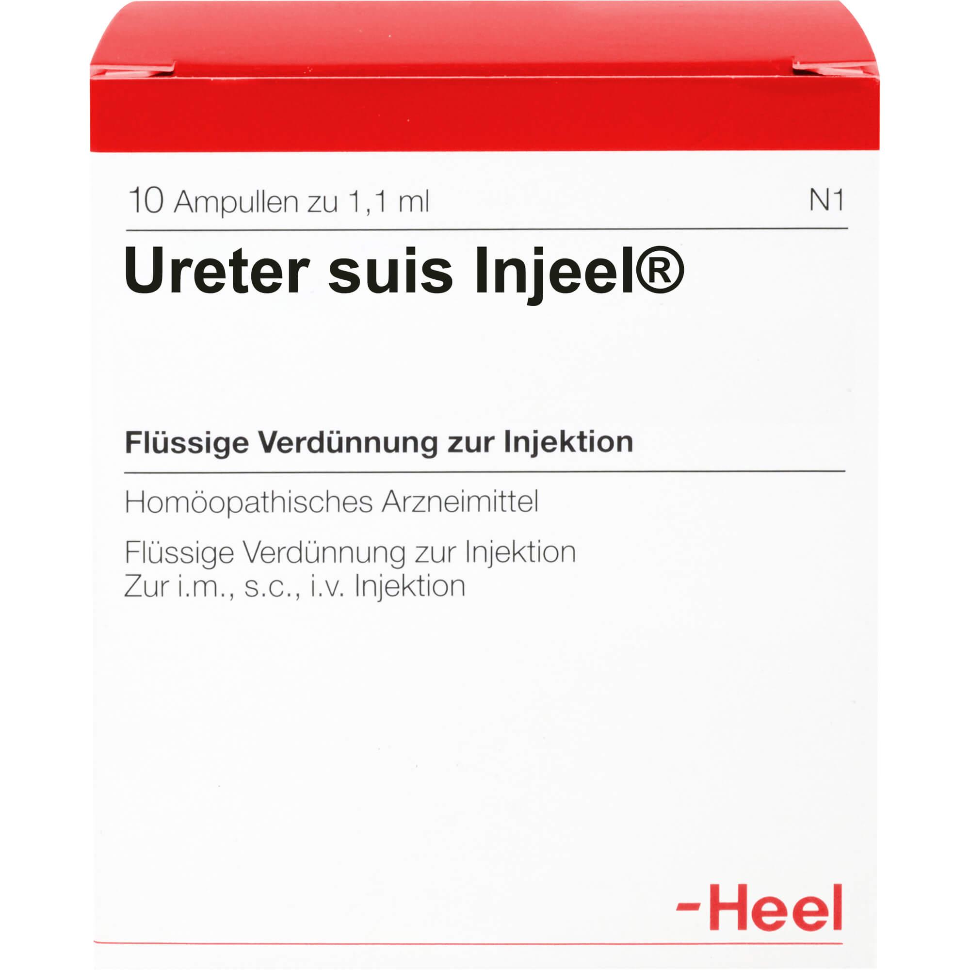 URETER SUIS Injeel Ampullen