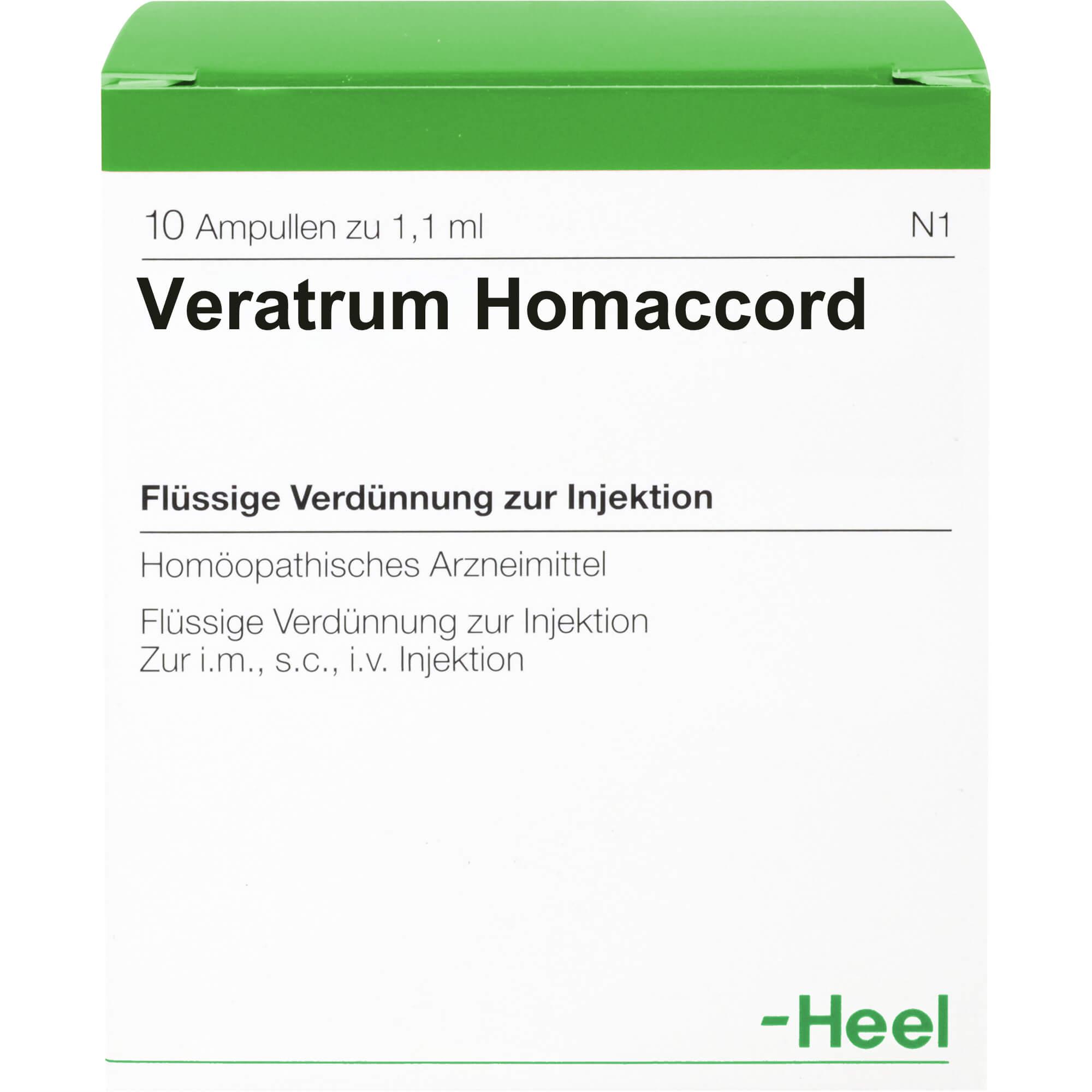 VERATRUM HOMACCORD Ampullen