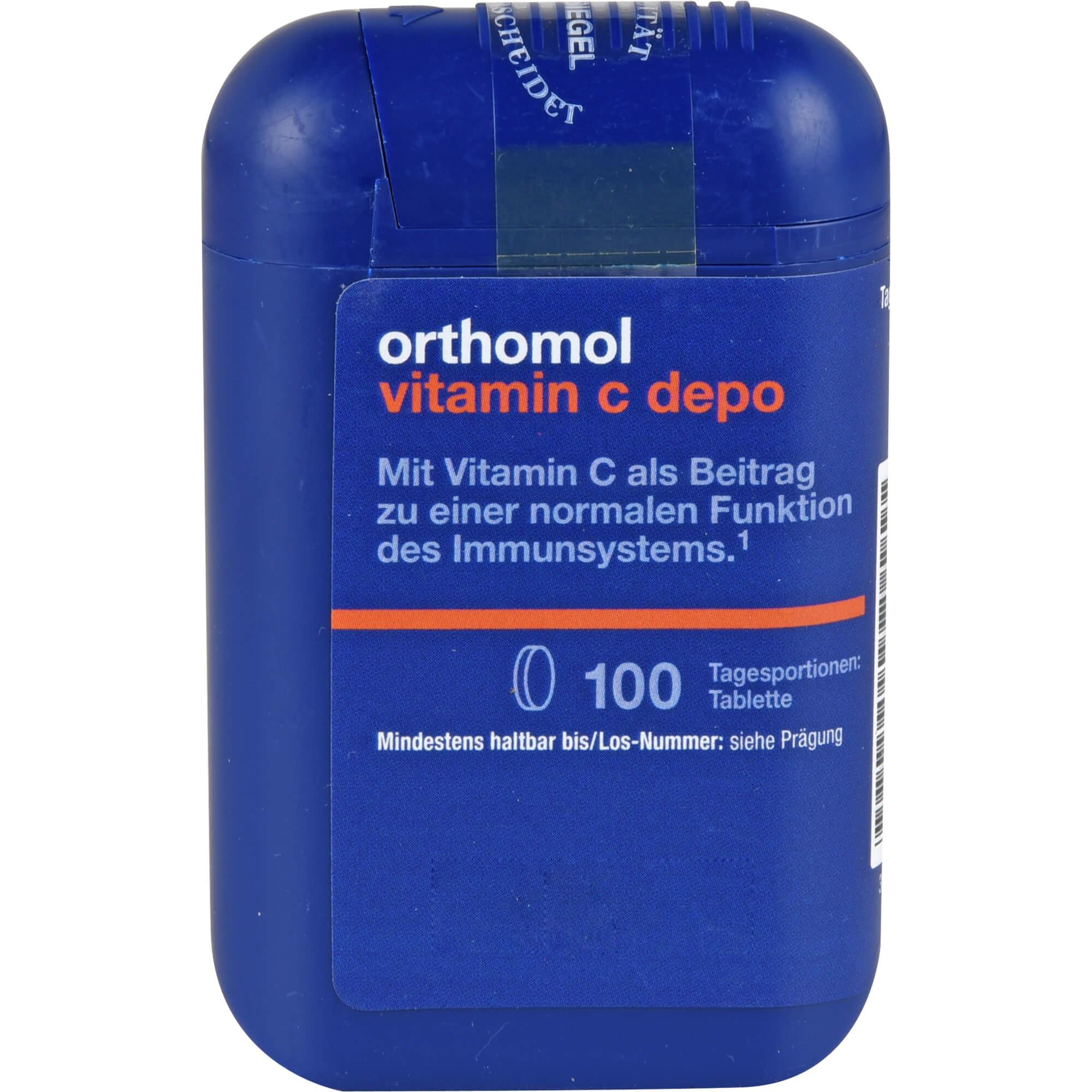 ORTHOMOL Vitamin C Depo Tabletten