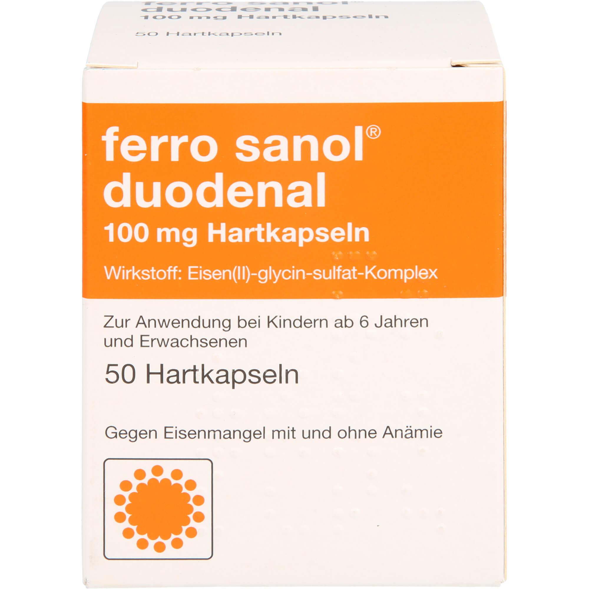 FERRO SANOL duodenal Hartkaps.m.msr.überz.Pell.