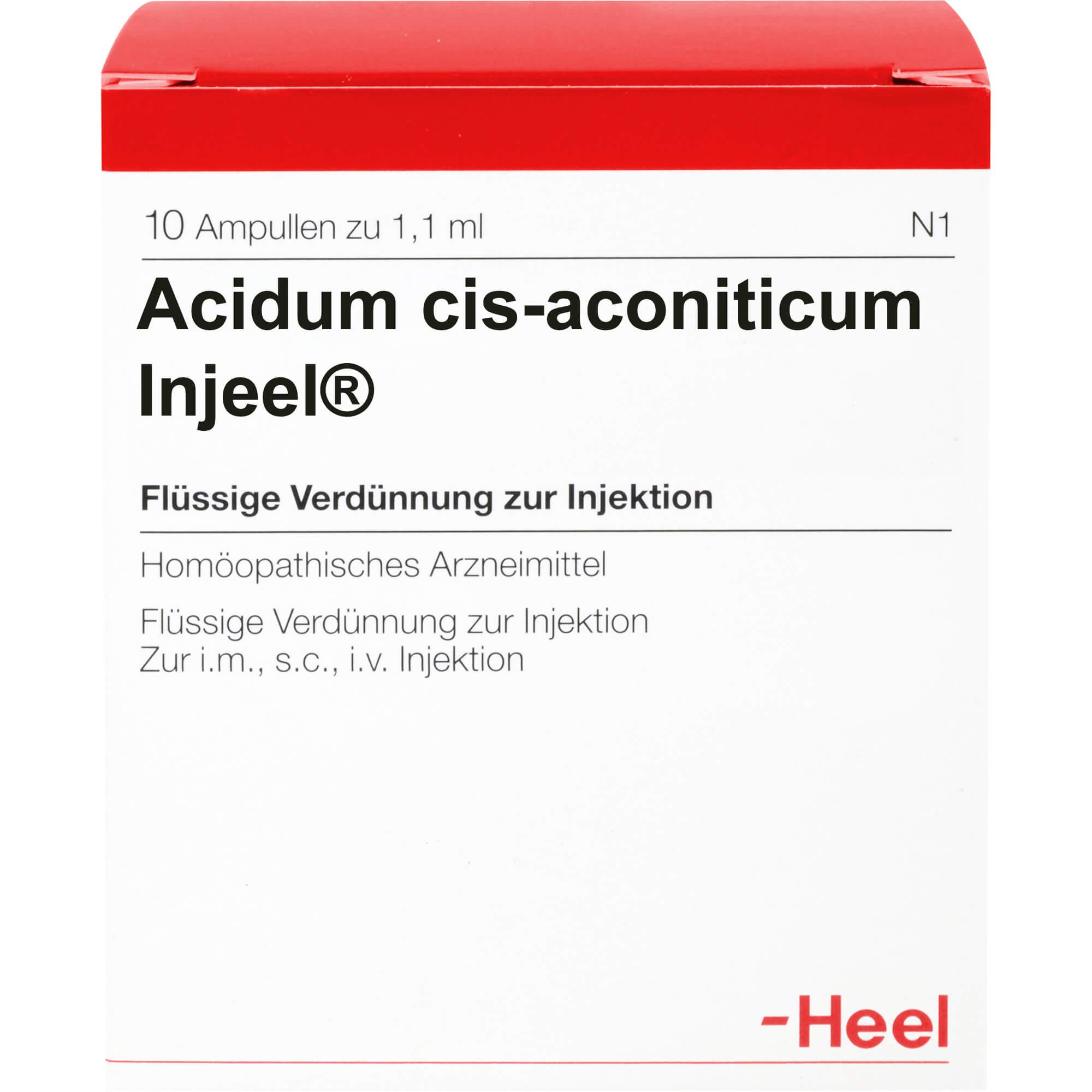 ACIDUM CIS-aconiticum Injeel Ampullen